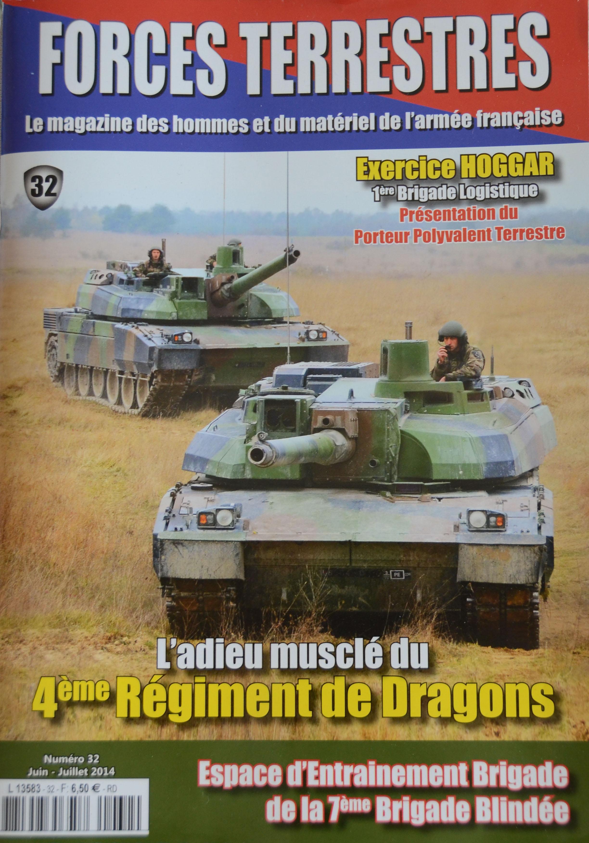 Forces Terrestres N°32 (Etranger)