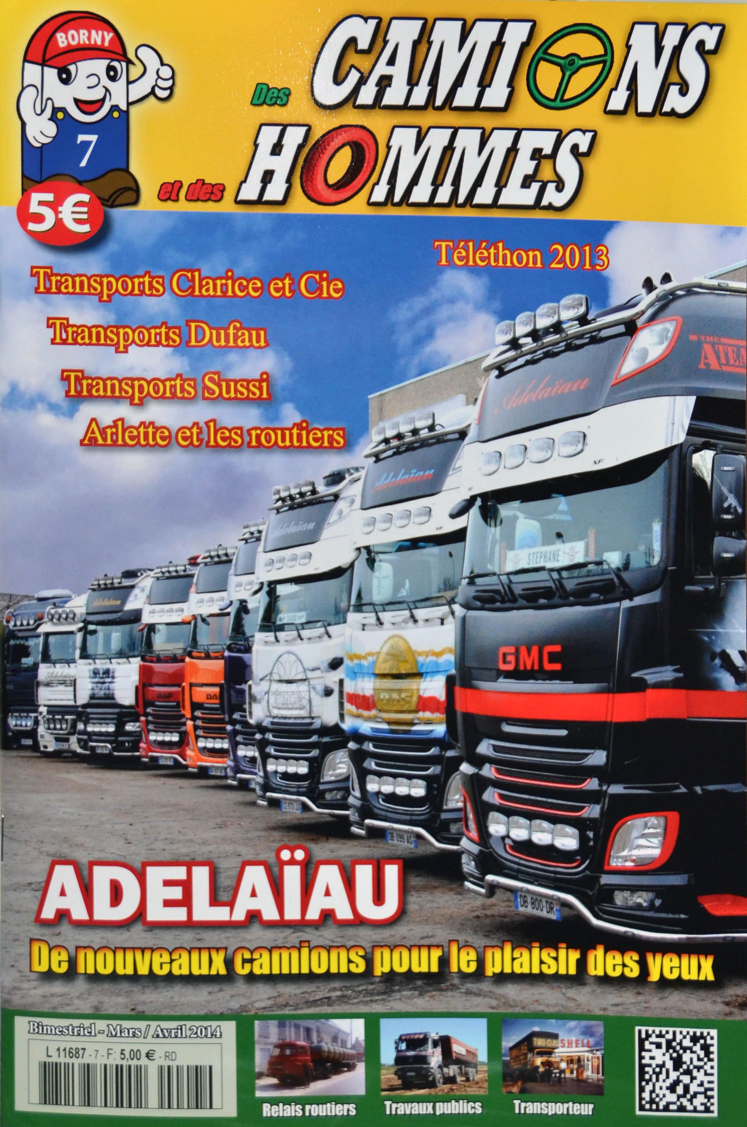 Magazine N°7 Des Camions et des Hommes (Etranger)
