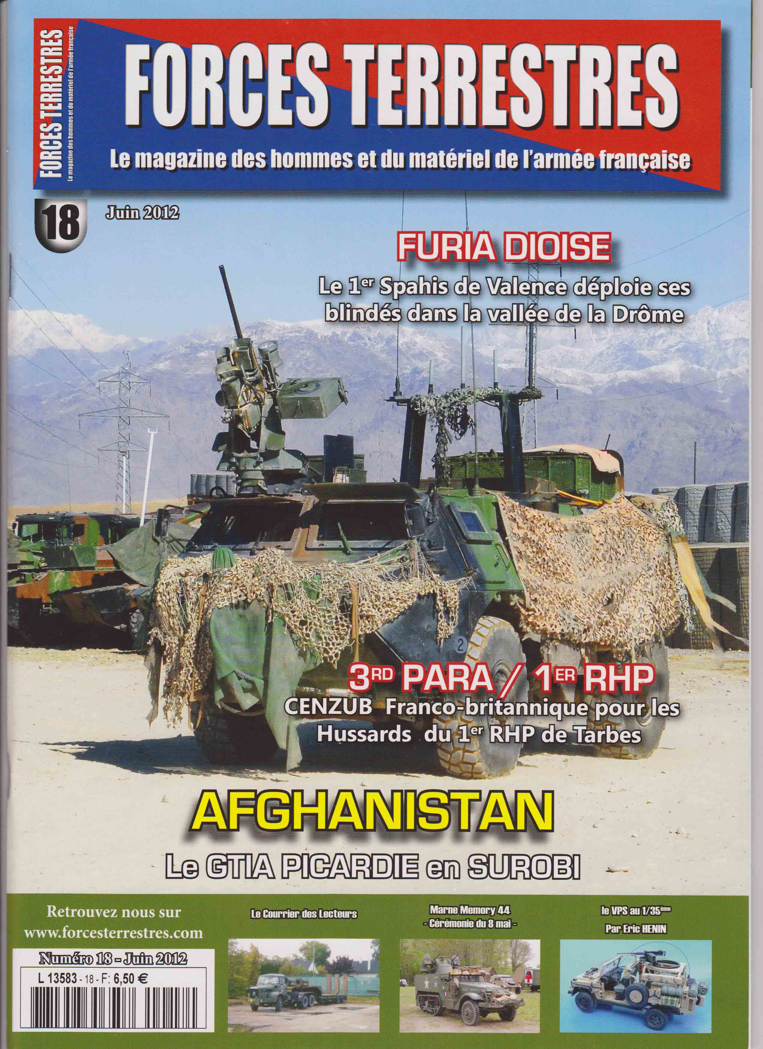 Forces Terrestres N°18 (Etranger)