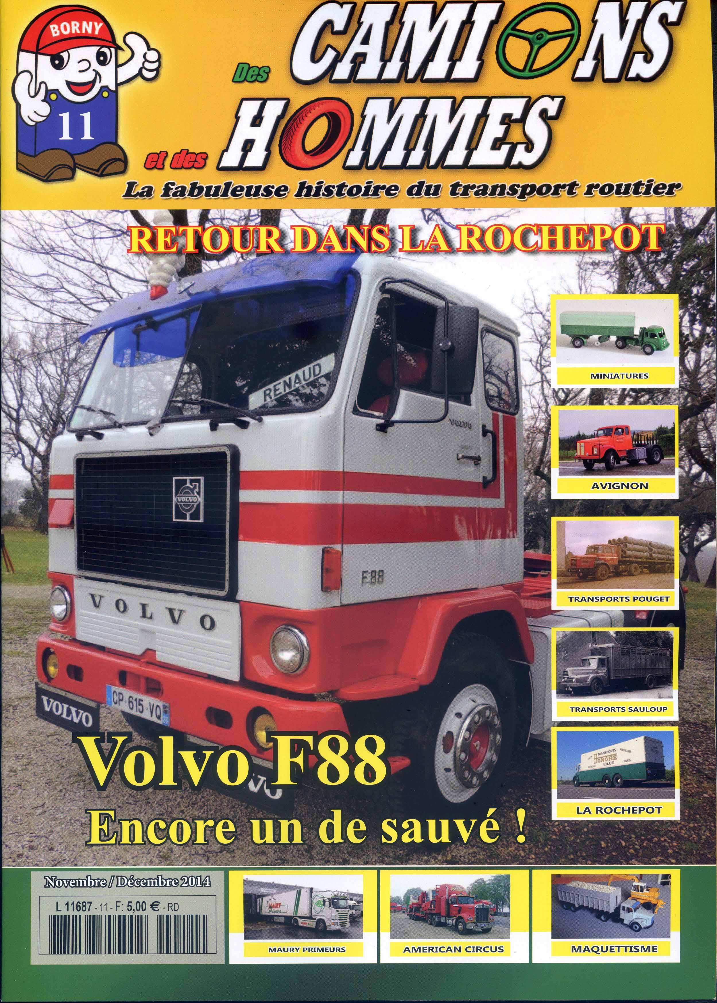 Magazine N°11 Des Camions et des Hommes (Etranger)
