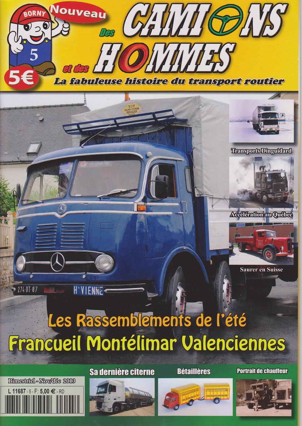 Magazine N°5 Des Camions et des Hommes (Etranger)