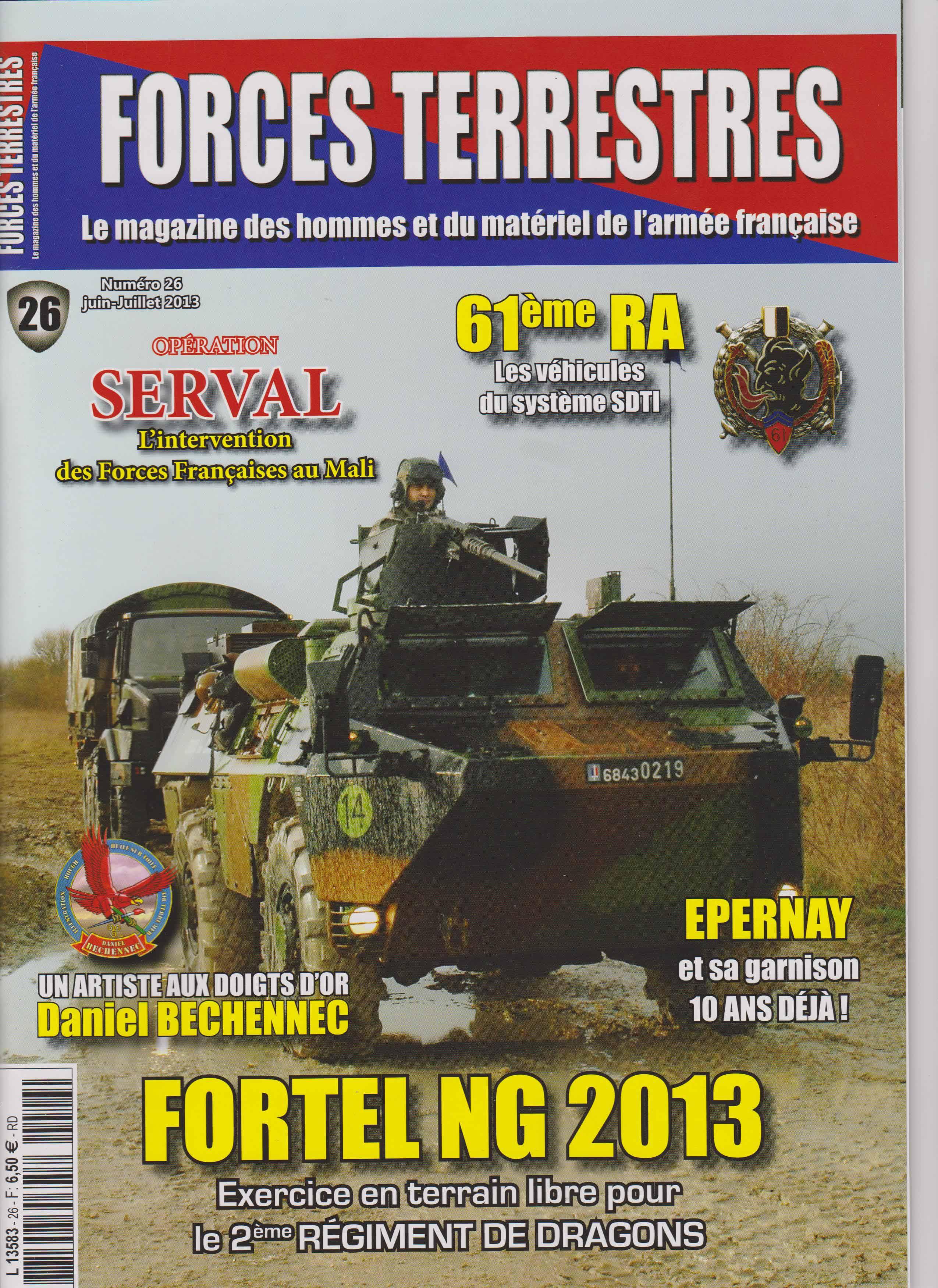 Forces Terrestres N°26 (Etranger)