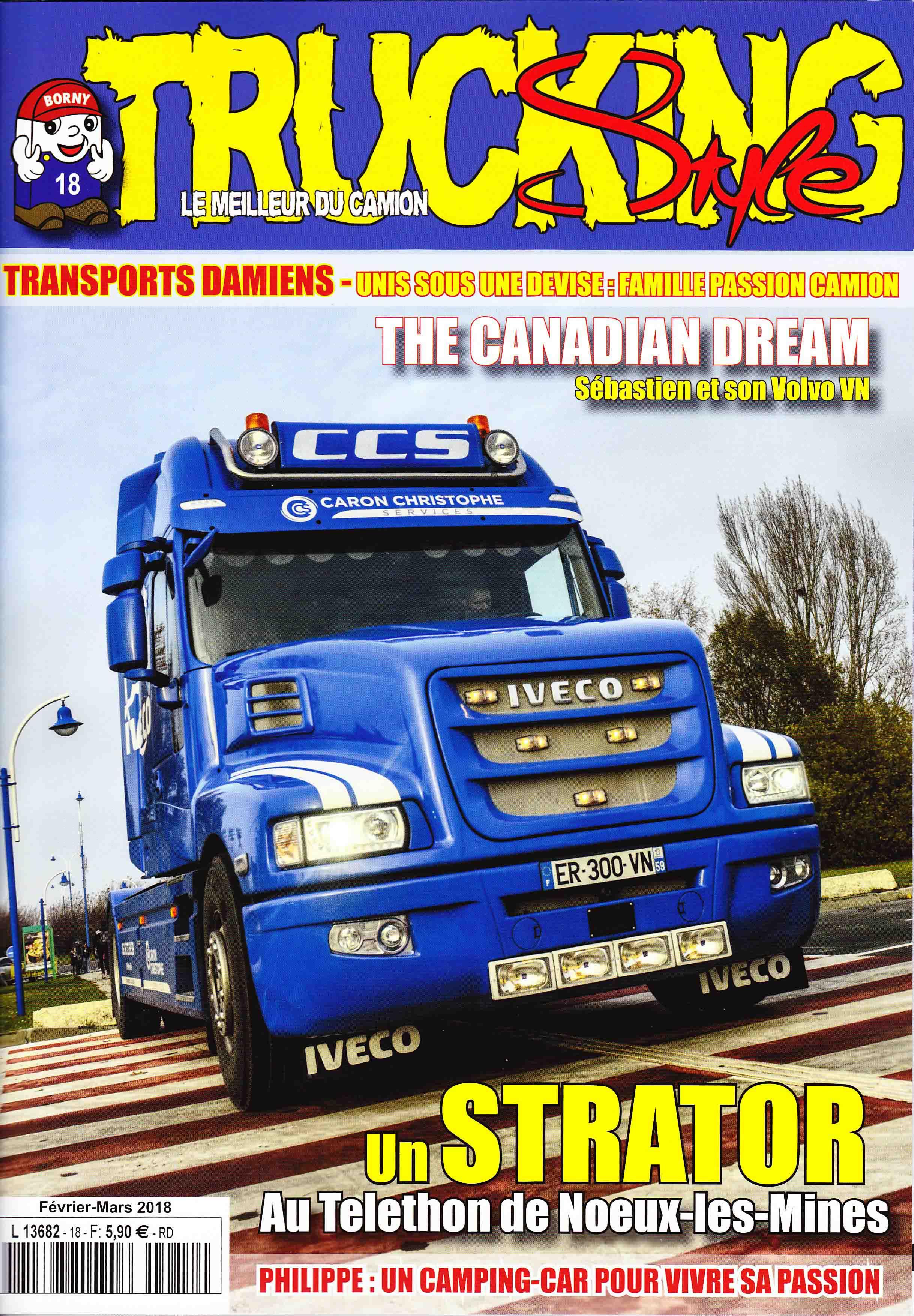 Numéro 18 de Trucking Style