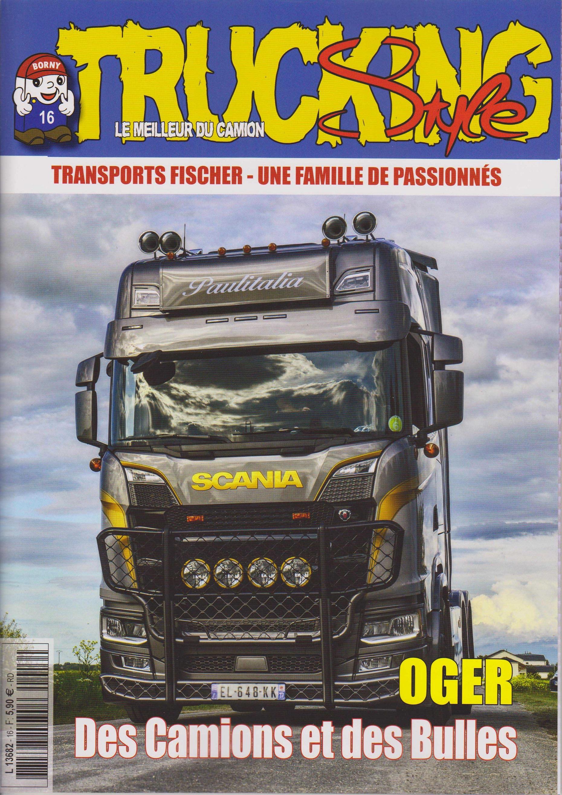 Numéro 16 de Trucking Style