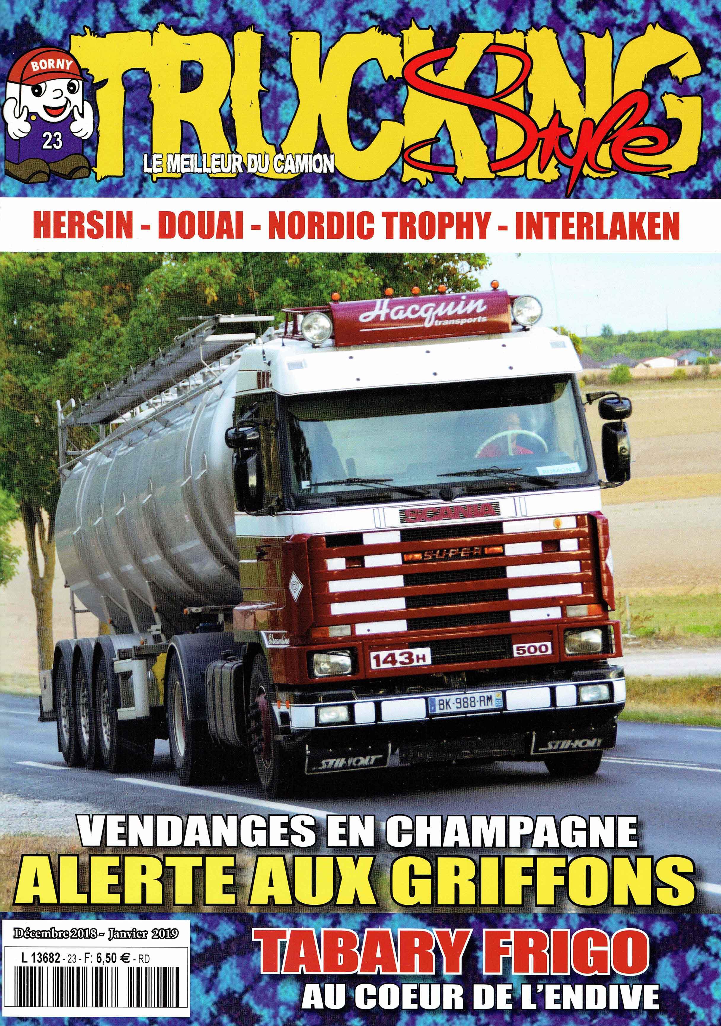 Numéro 23 de Trucking Style