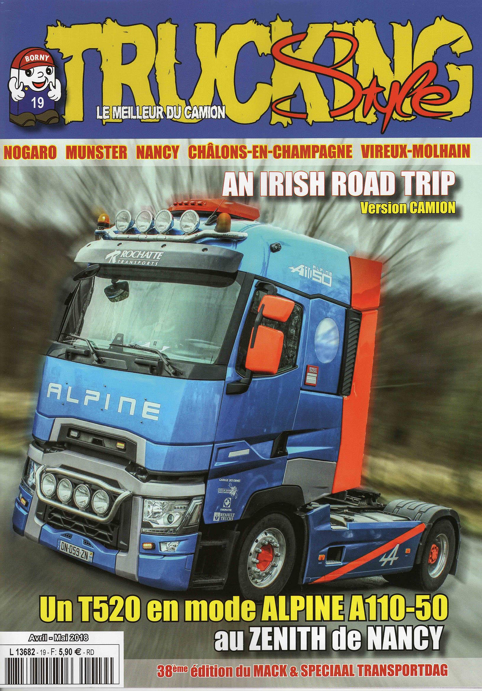 Numéro 19 de Trucking Style