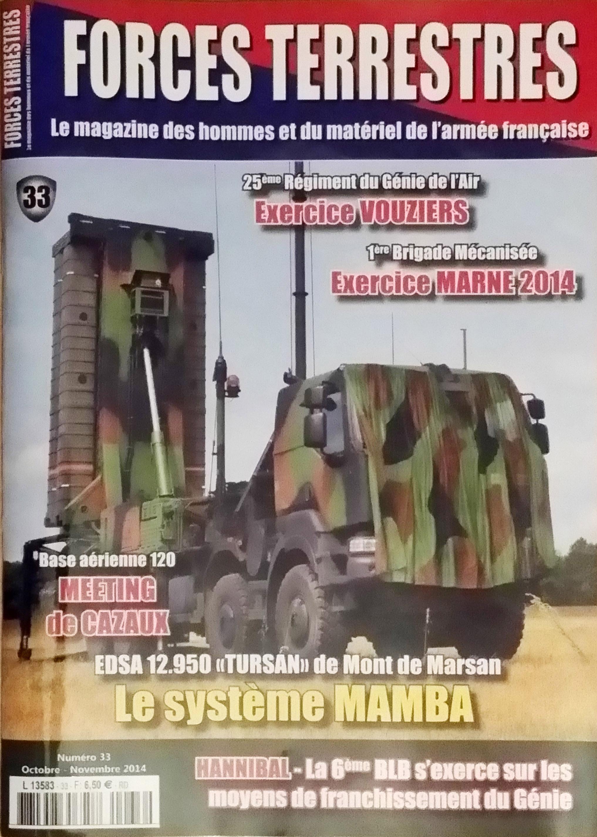 Forces Terrestres N°33 (Etranger)