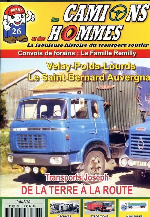 Magazine N°26 Des Camions et des Hommes (Etranger)