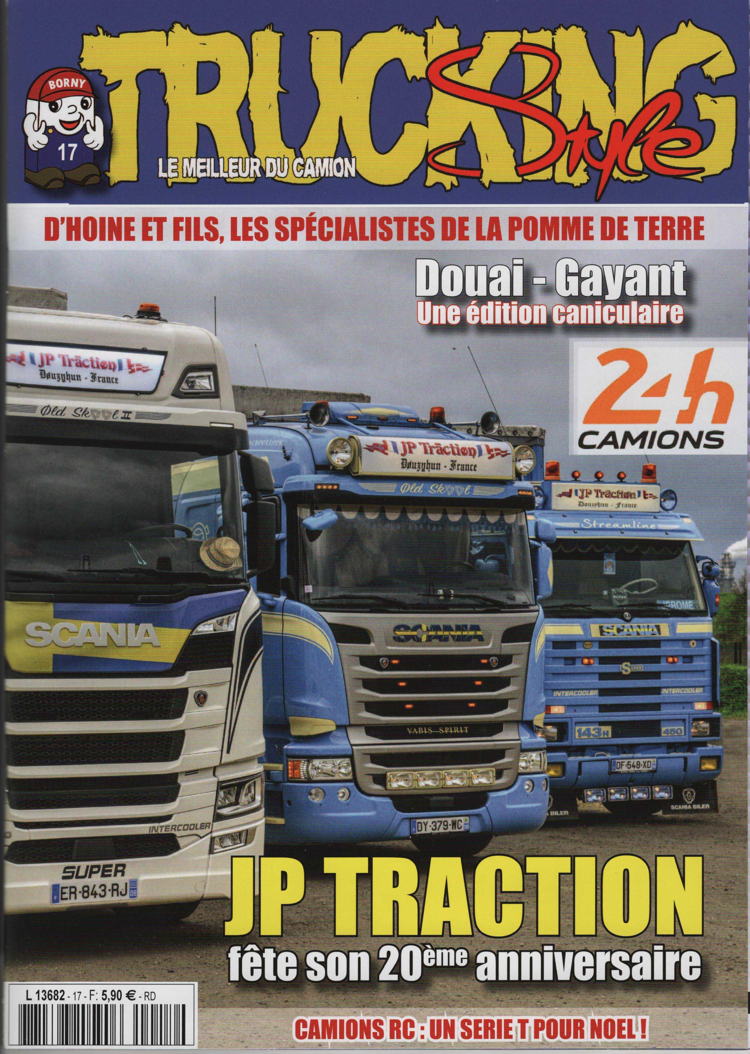 Numéro 17 de Trucking Style