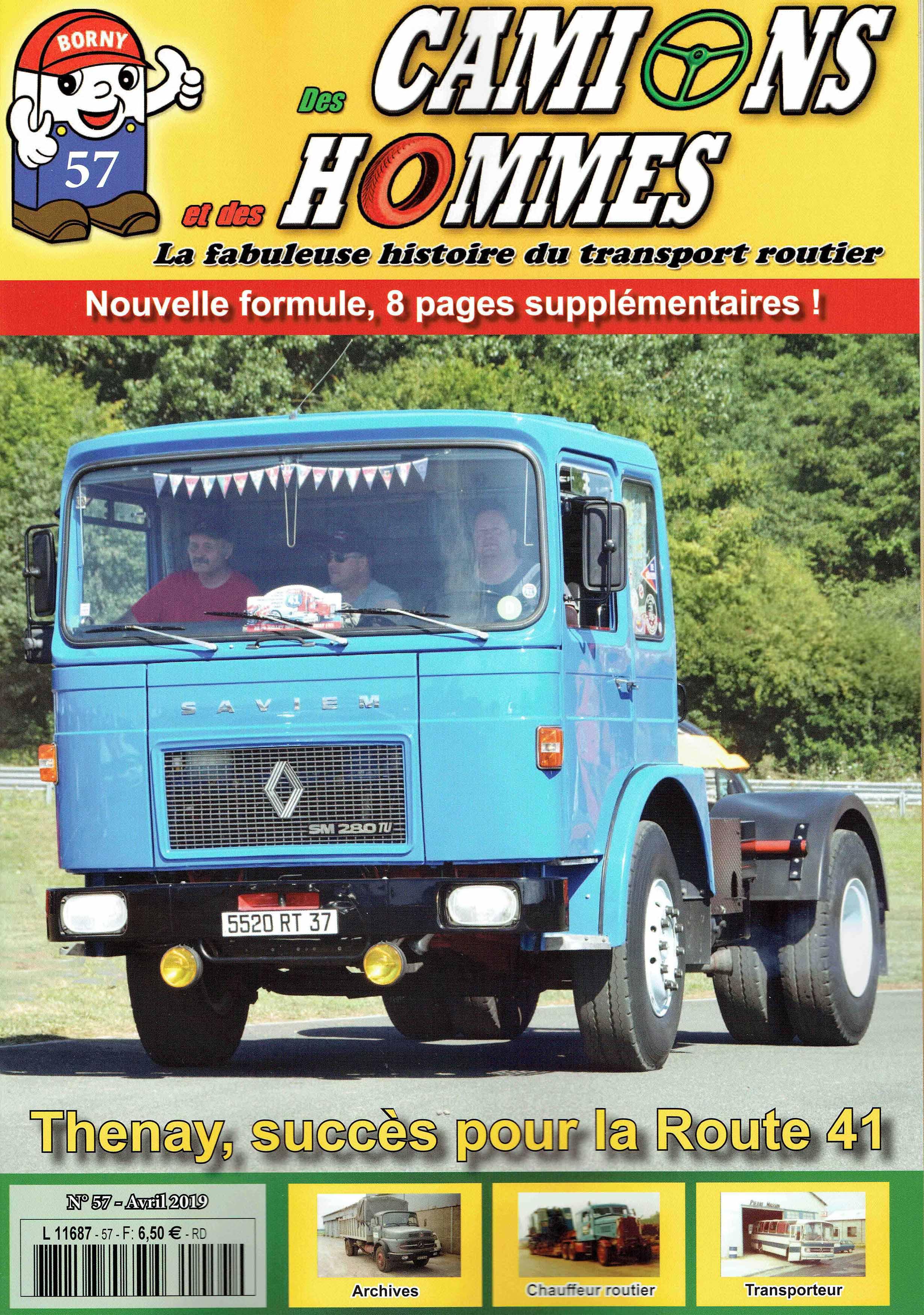 Magazine N°57 Des Camions et des Hommes (Etranger)