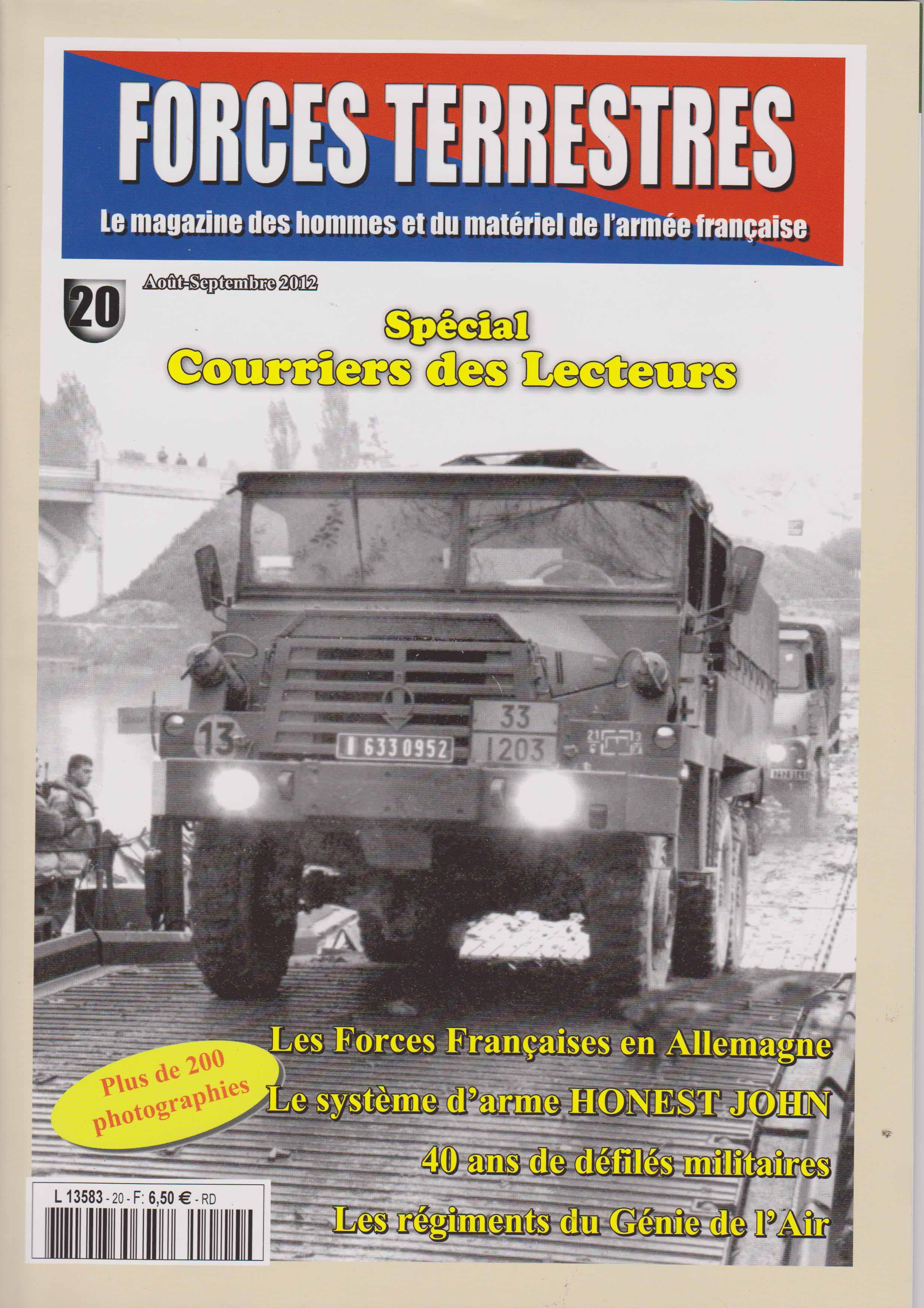 Forces Terrestres N°20 (Etranger)