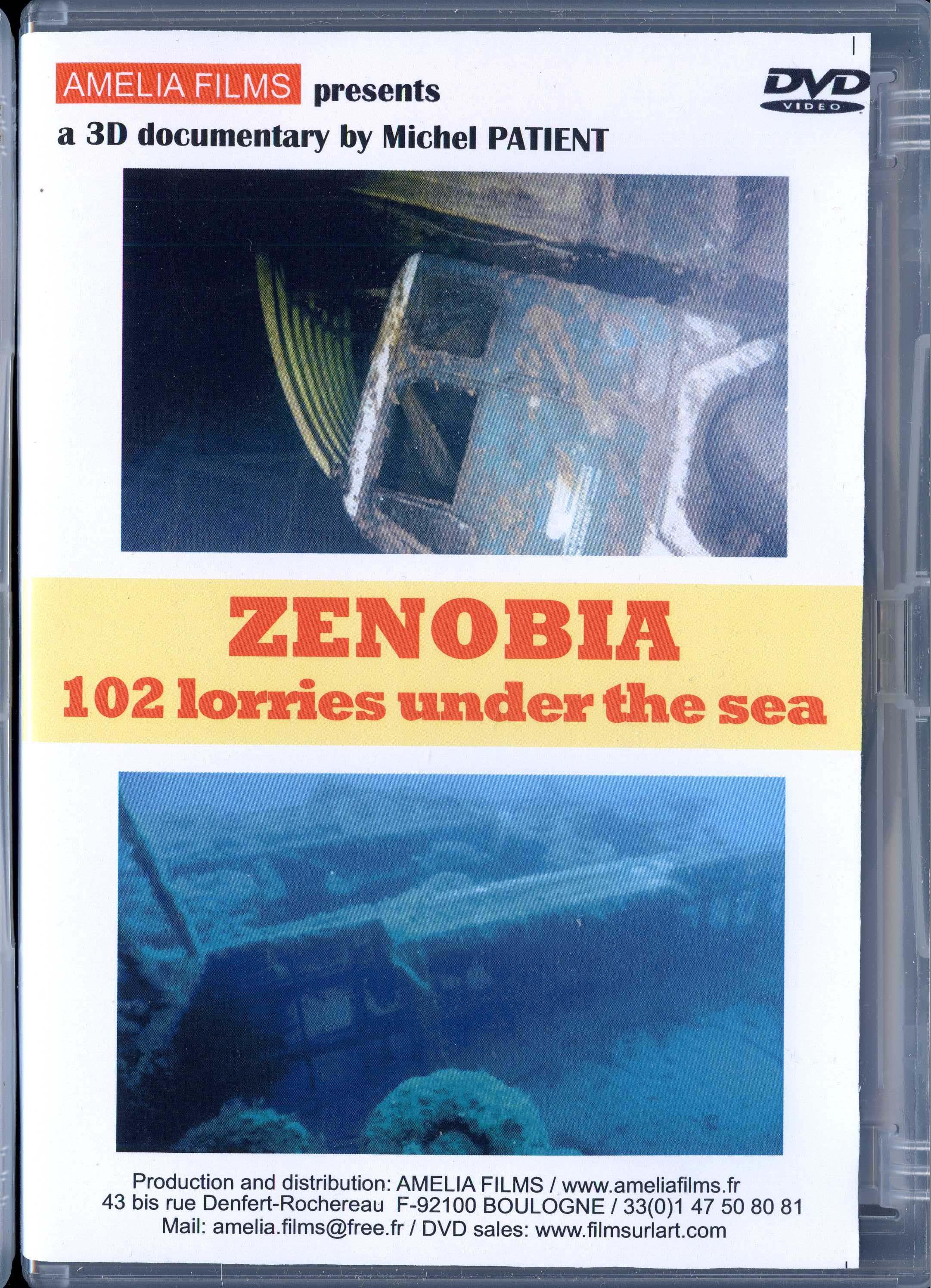 ZENOBIA 102 lorries under the sea ( english version )