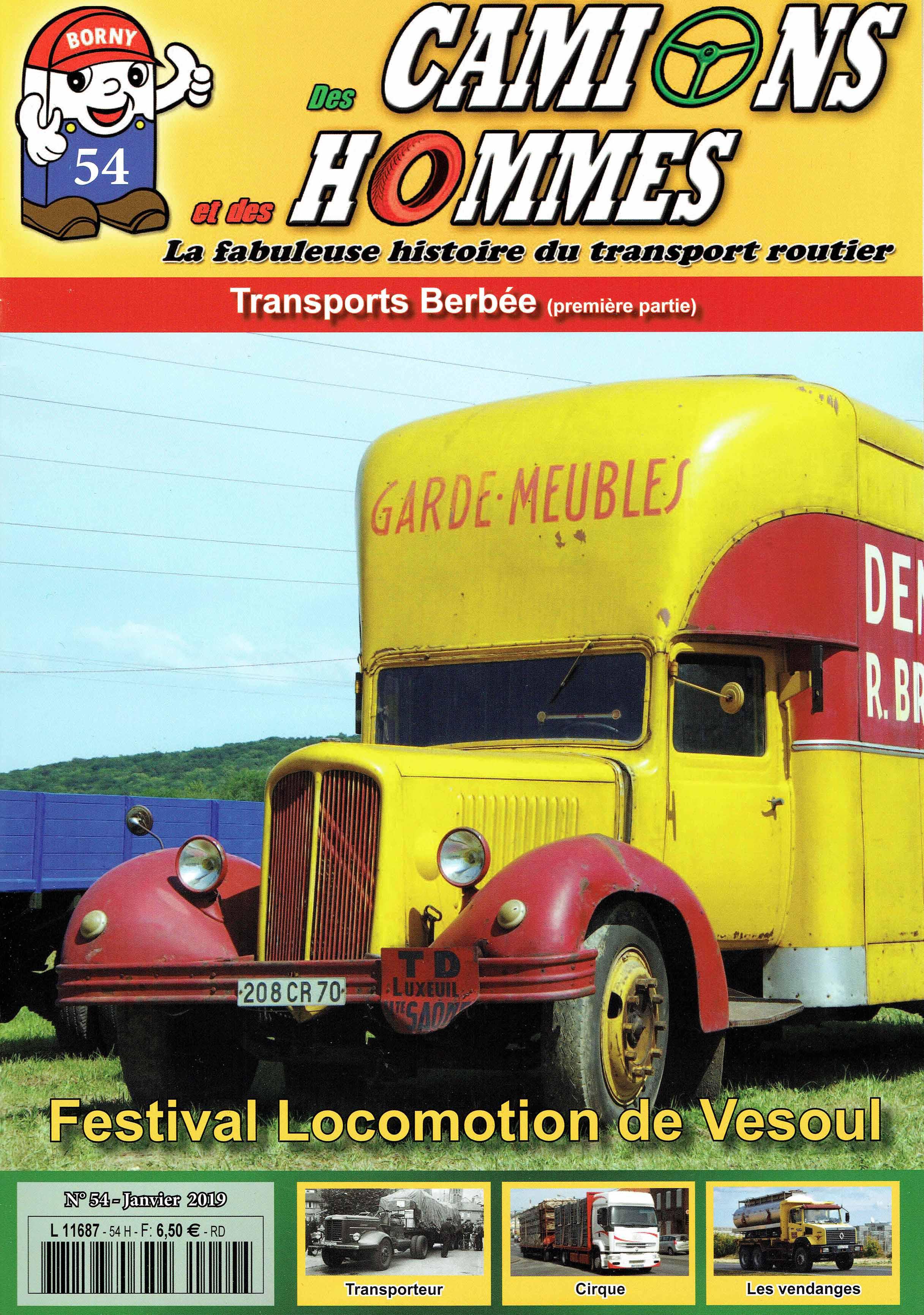 Magazine N°54 Des Camions et des Hommes (Etranger)