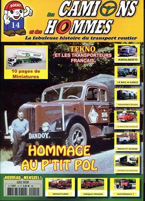 Magazine N°14 Des Camions et des Hommes (Etranger)
