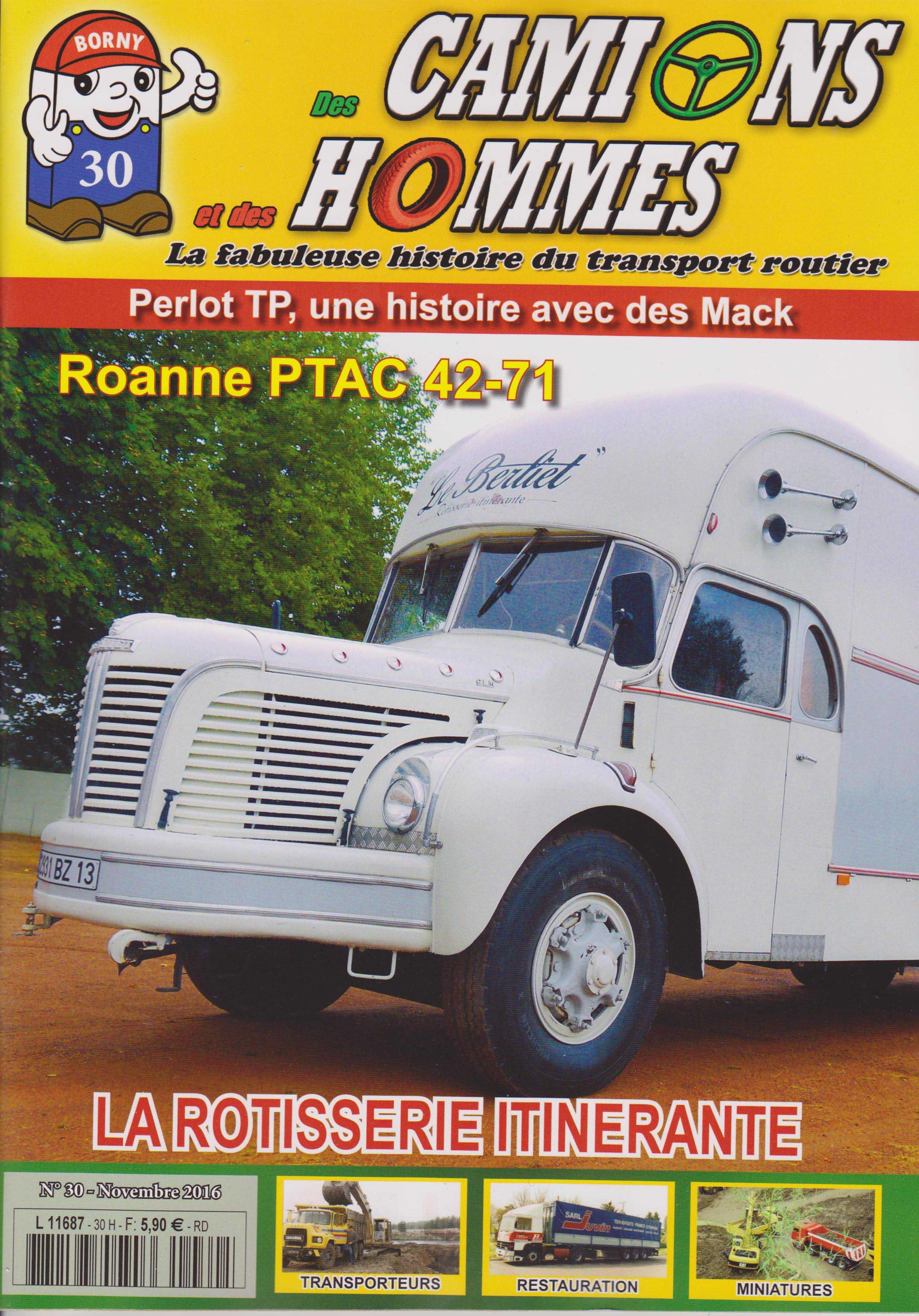 Magazine N°30 Des Camions et des Hommes (Etranger)