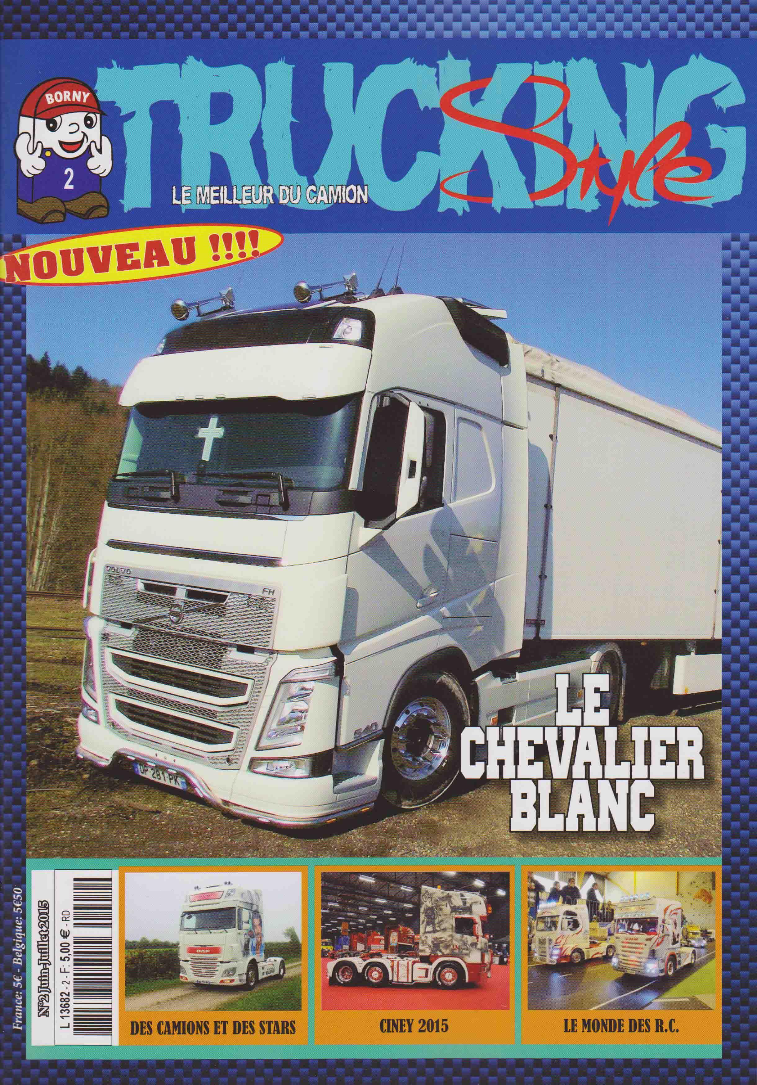 Numéro 2 de Trucking Style - Juin Juillet 2015