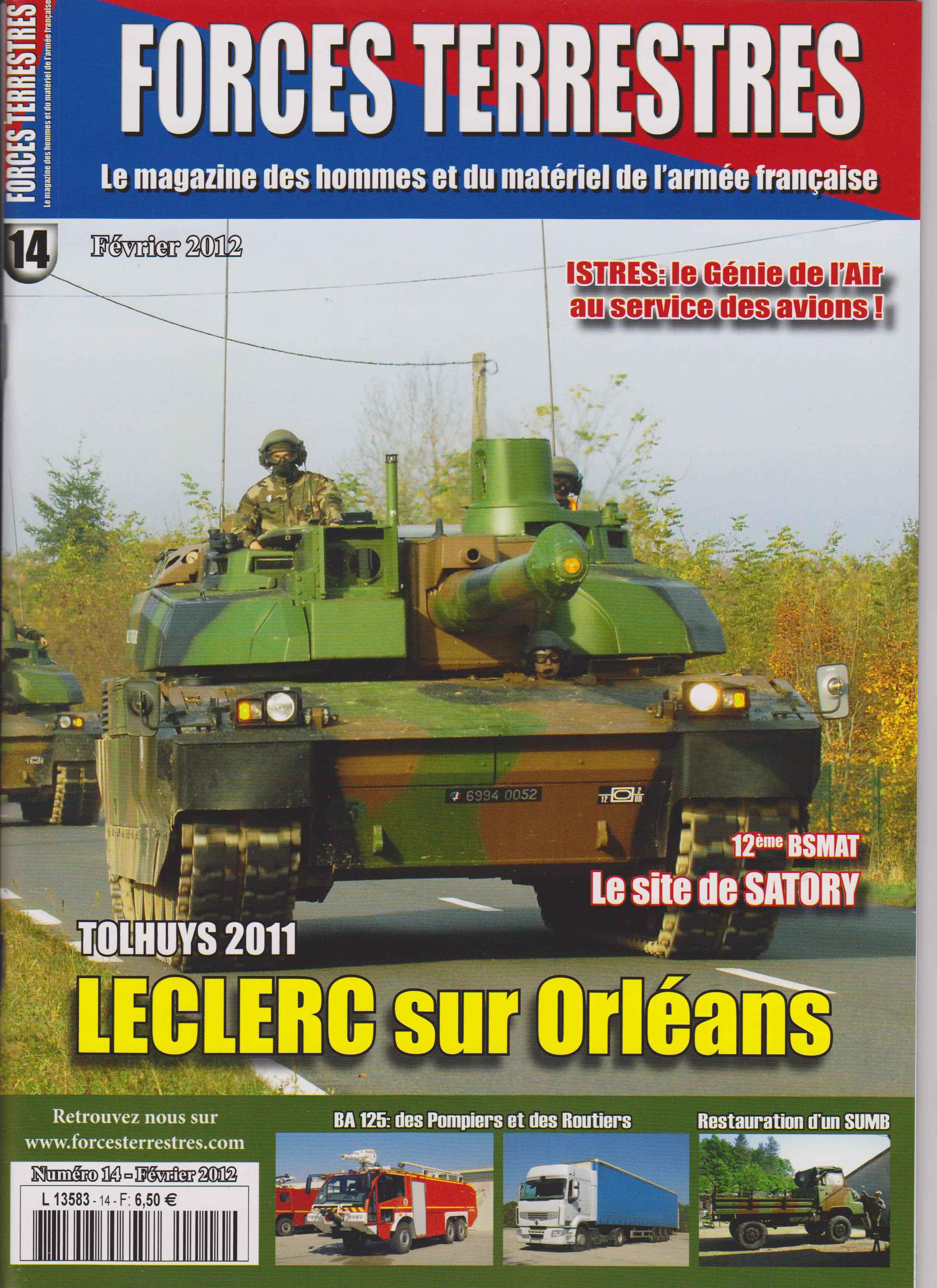 Forces Terrestres N°14 (Etranger)