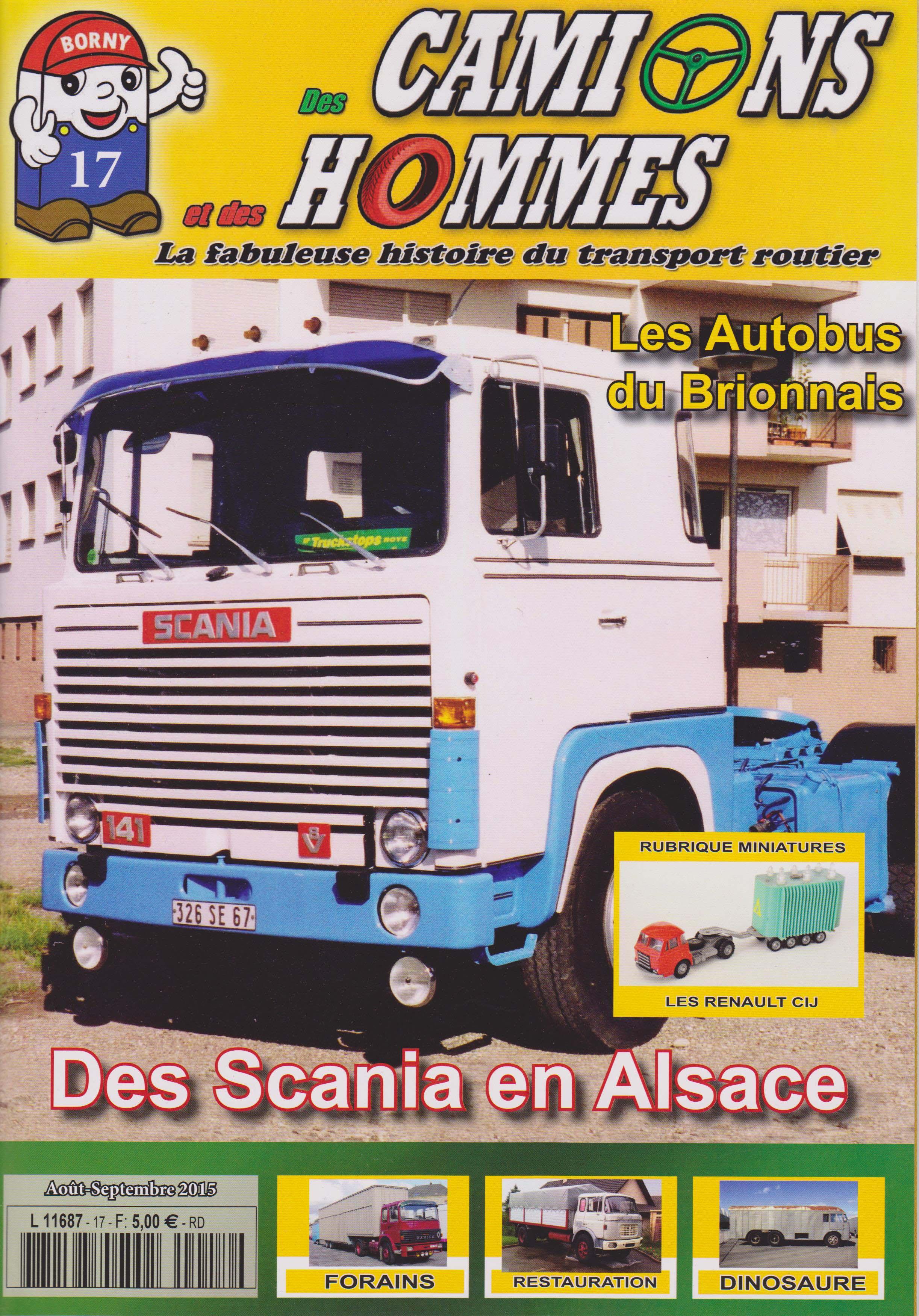 Magazine N°17 Des Camions et des Hommes (Etranger)