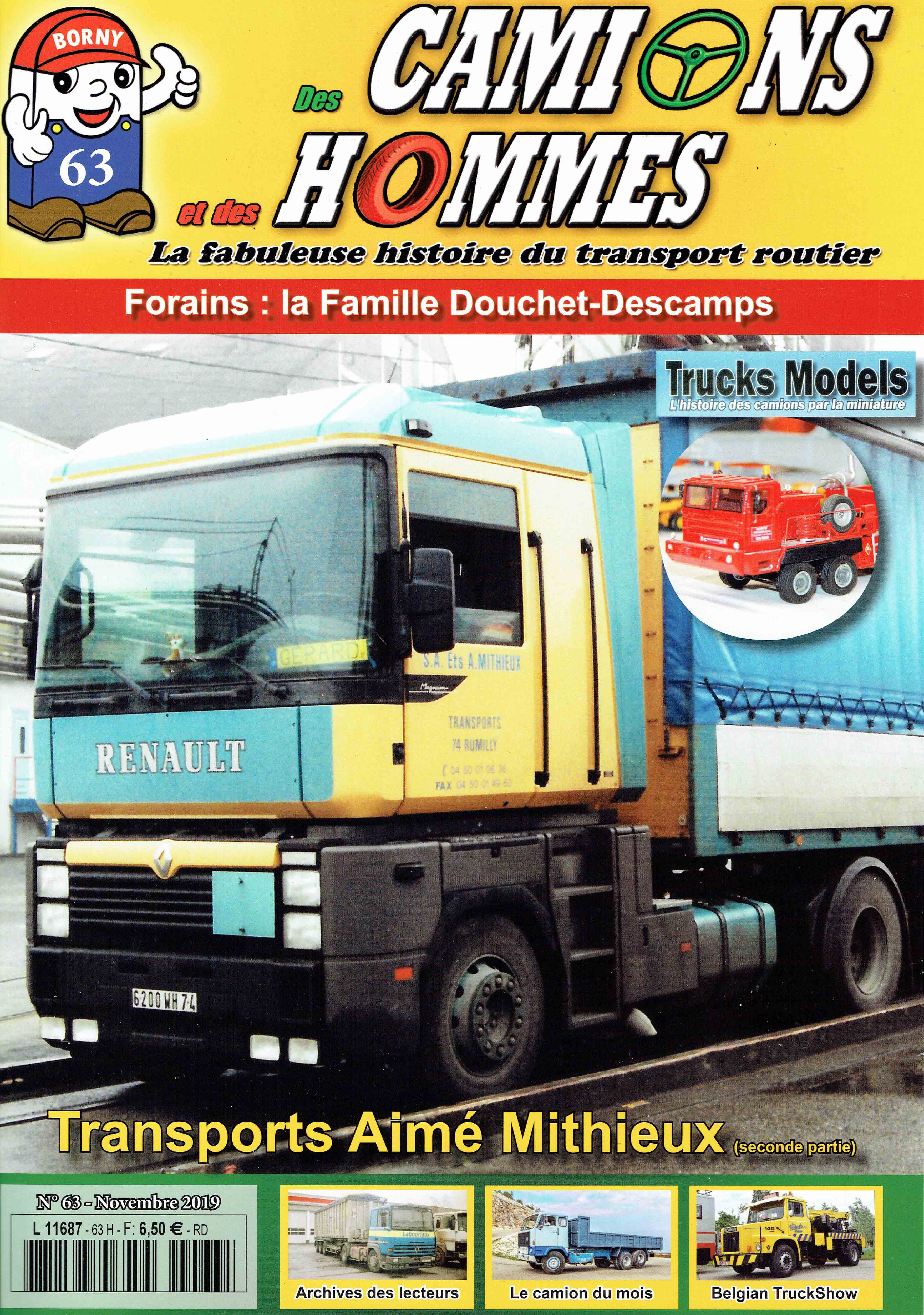 Magazine N°63 Des Camions et des Hommes (Etranger)