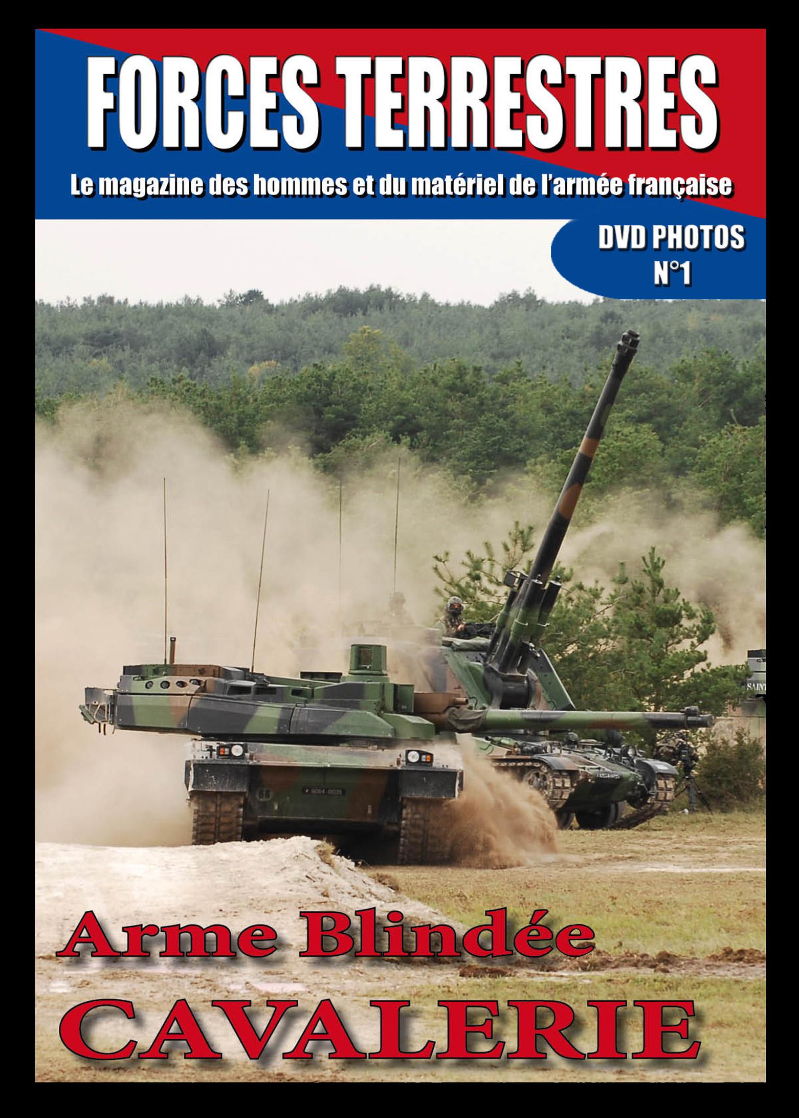 DVD  N°1 Cavalerie