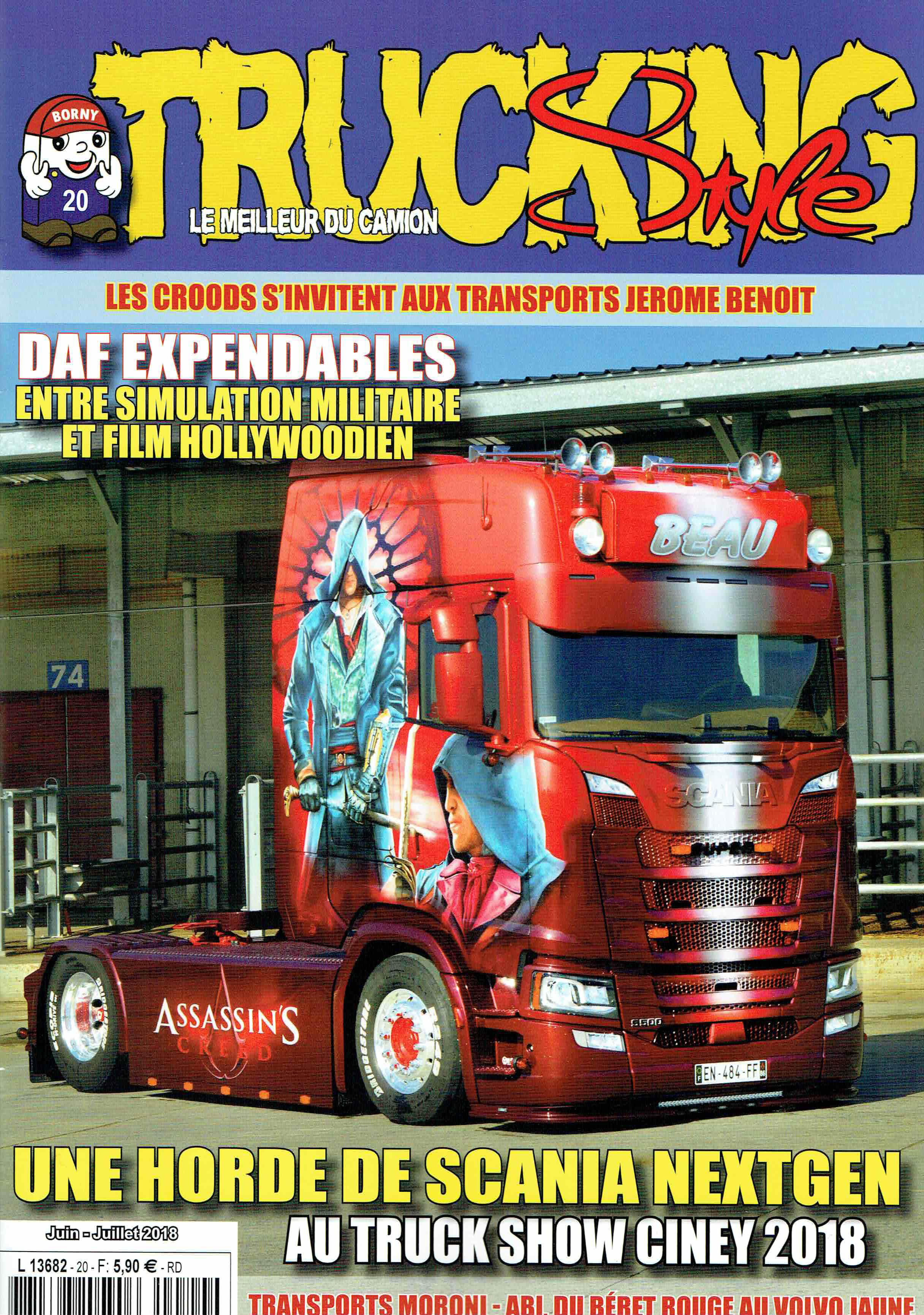 Numéro 20 de Trucking Style