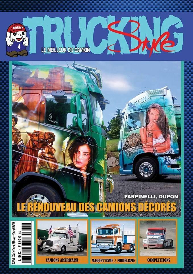 Numéro 4 de Trucking Style - Octobre Novembre 2015