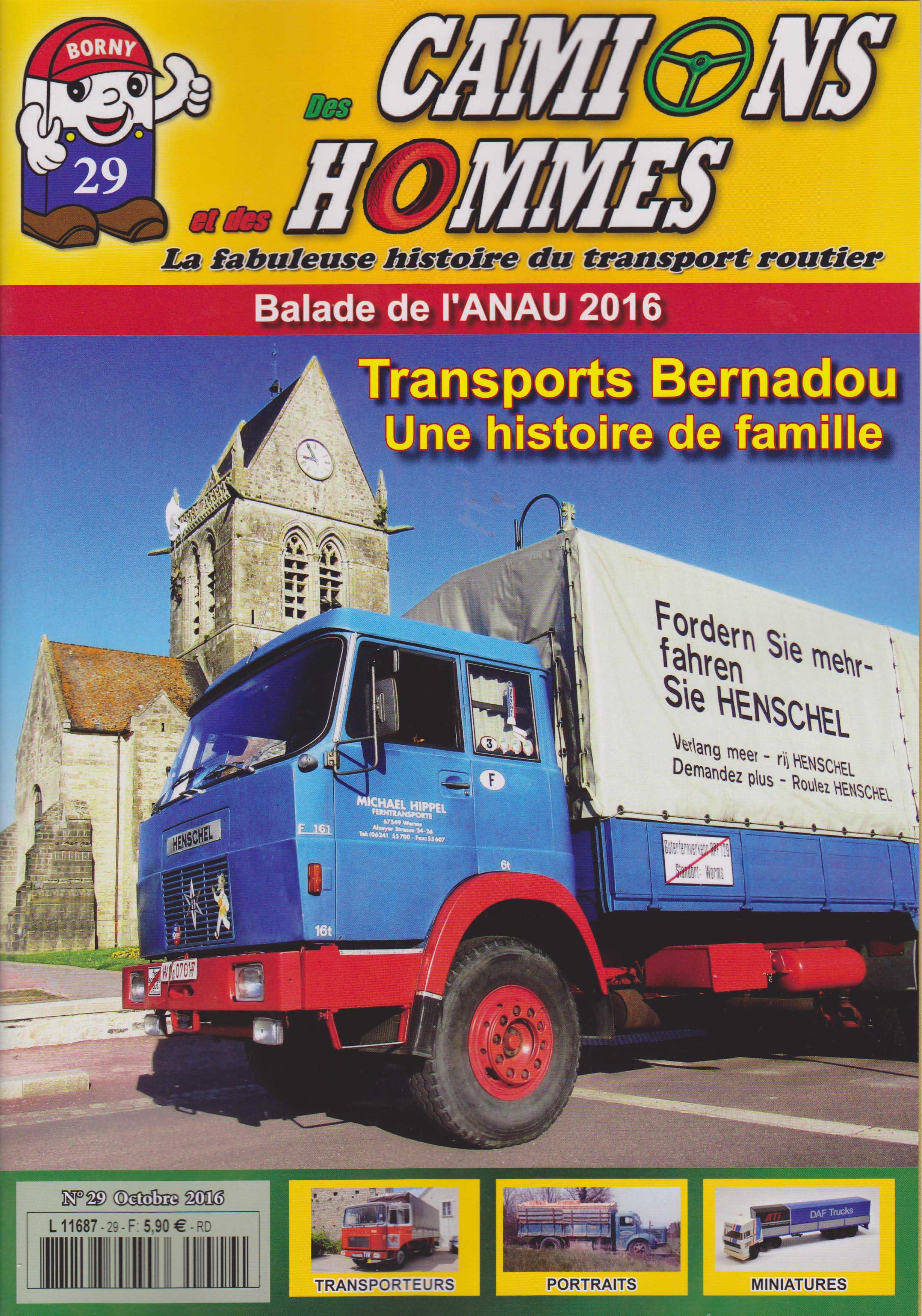 Magazine N°29 Des Camions et des Hommes (Etranger)