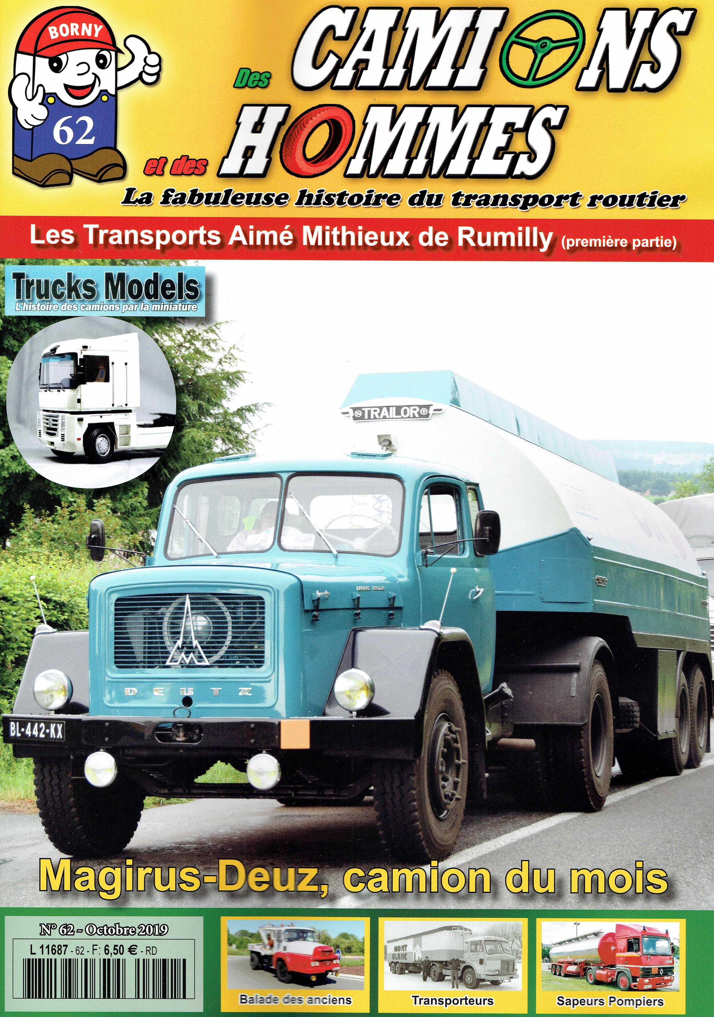 Magazine N°62 Des Camions et des Hommes (Etranger)