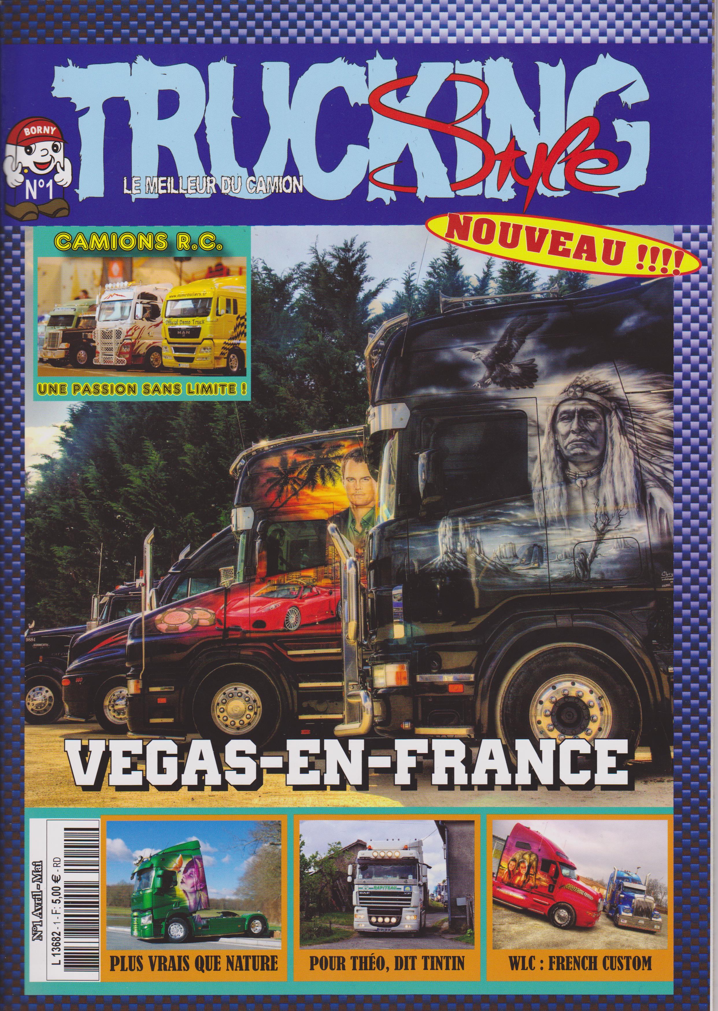 Numéro 1 de Trucking Style - Avril Mai 2015