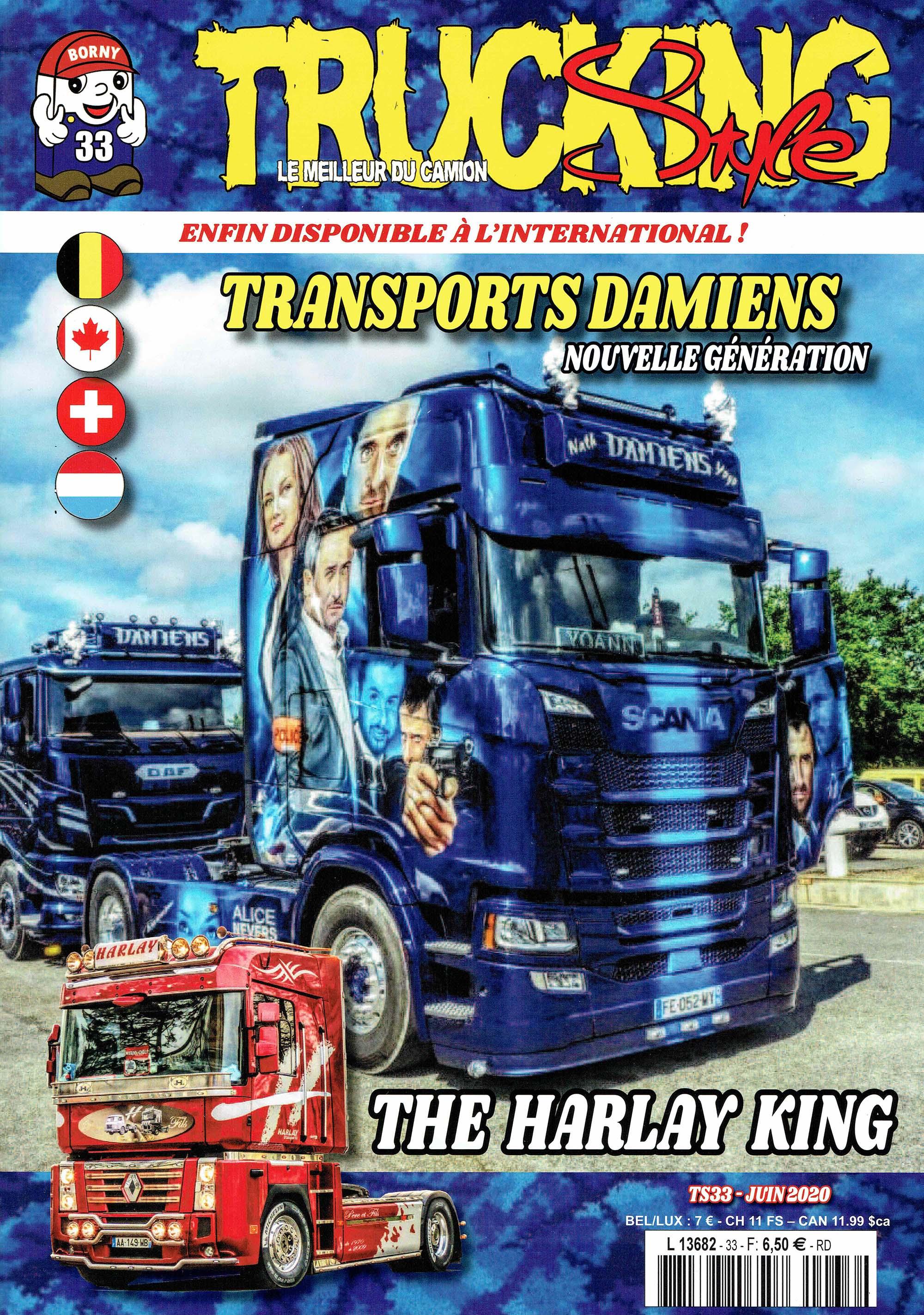 Numéro 33 de Trucking Style