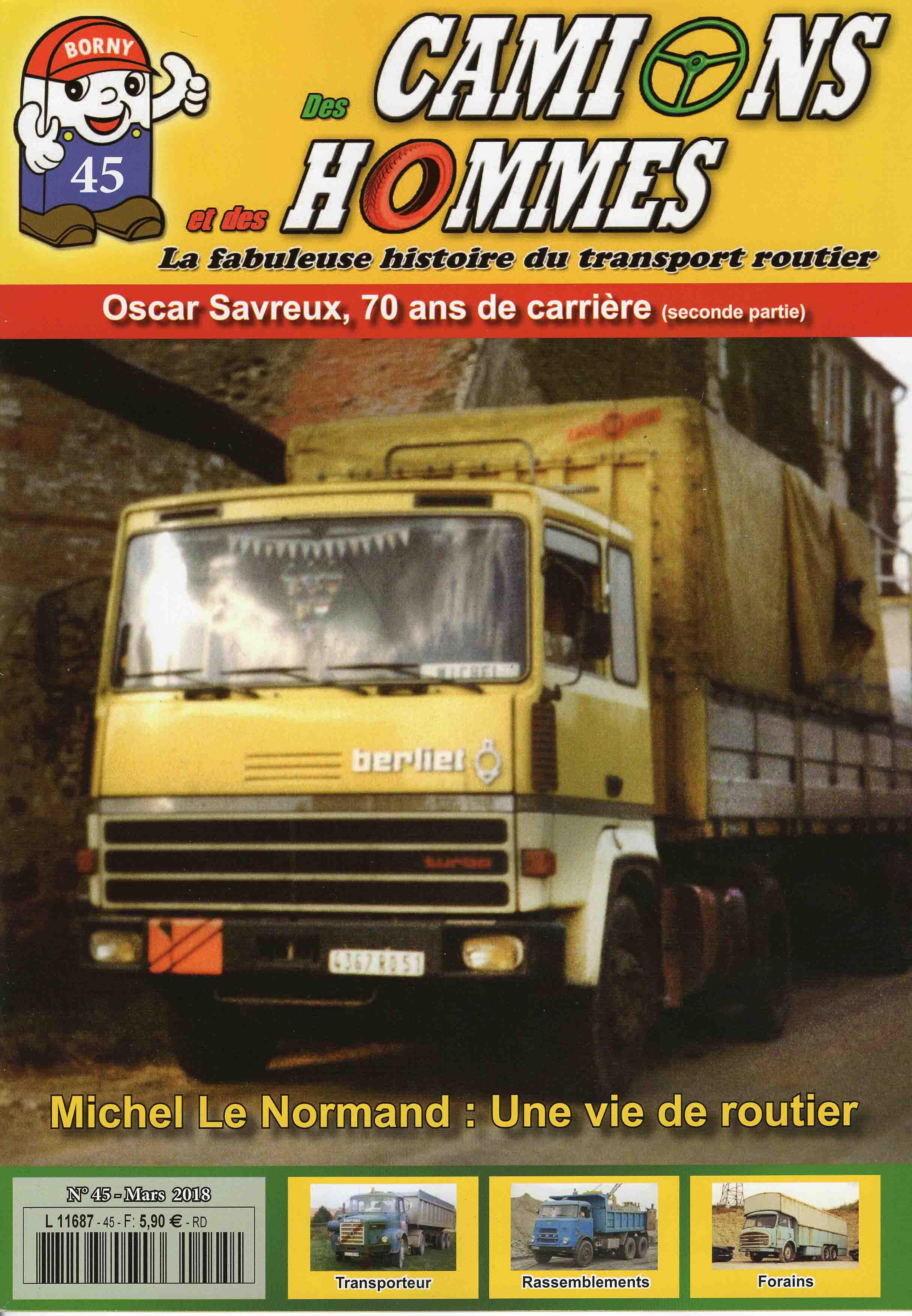 Magazine N°45 Des Camions et des Hommes (Etranger)