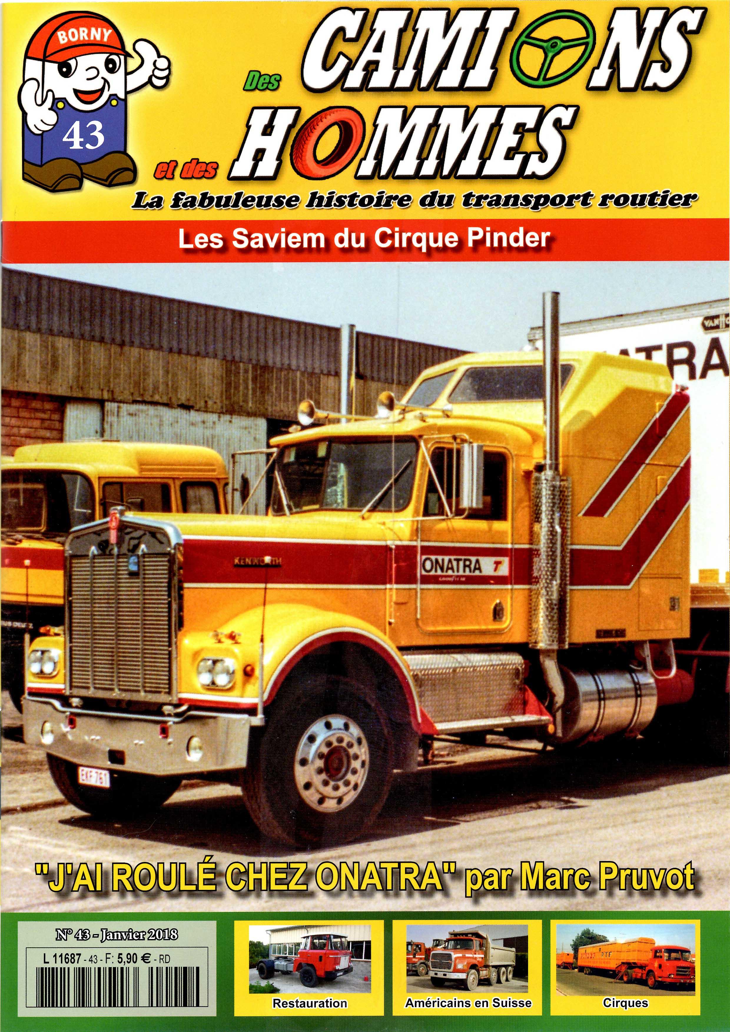 Magazine N°43 Des Camions et des Hommes (Etranger)