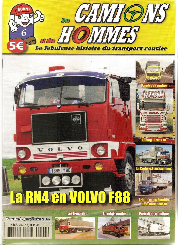 Magazine N°6 Des Camions et des Hommes (Etranger)