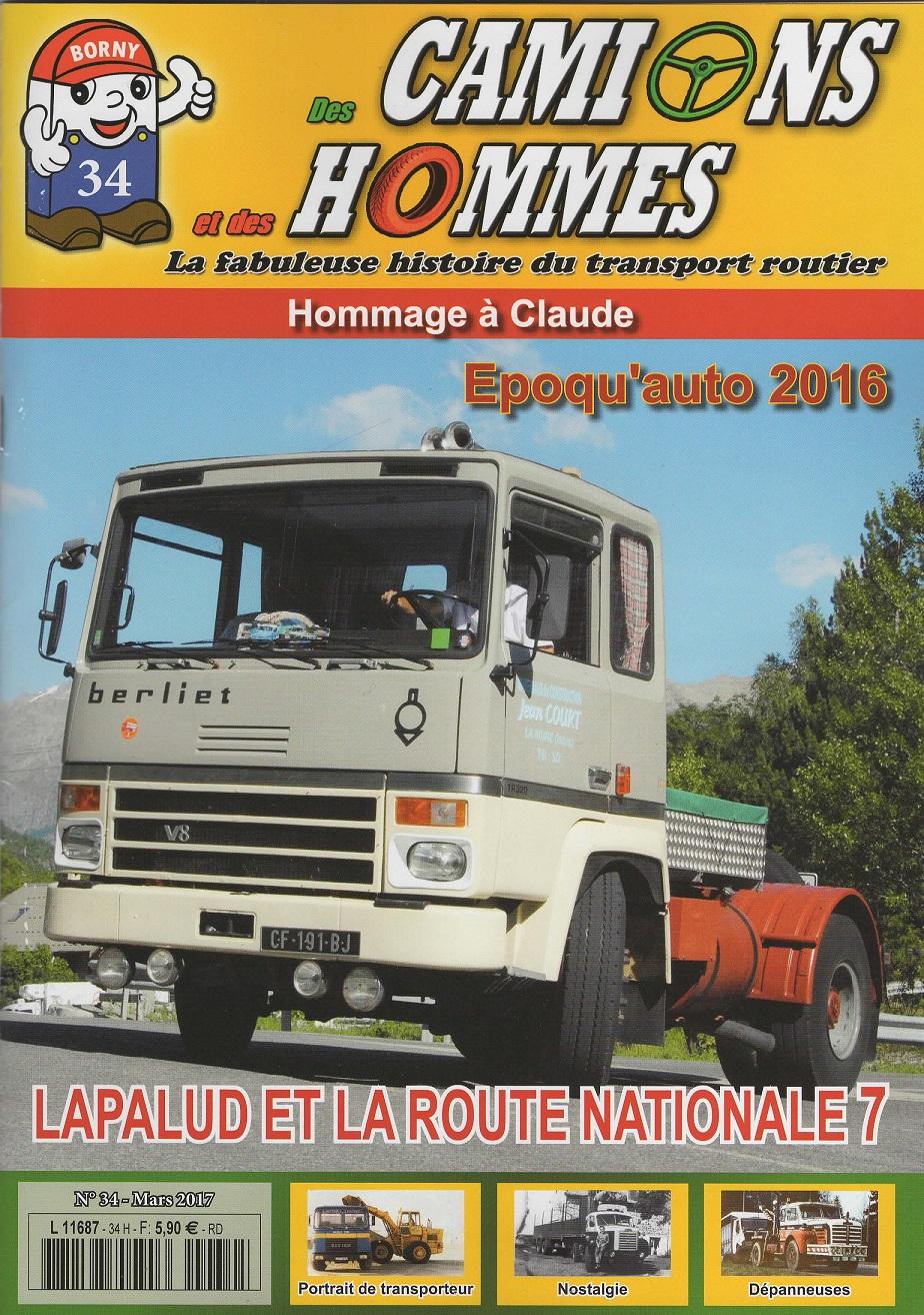Magazine N°34 Des Camions et des Hommes (Etranger)