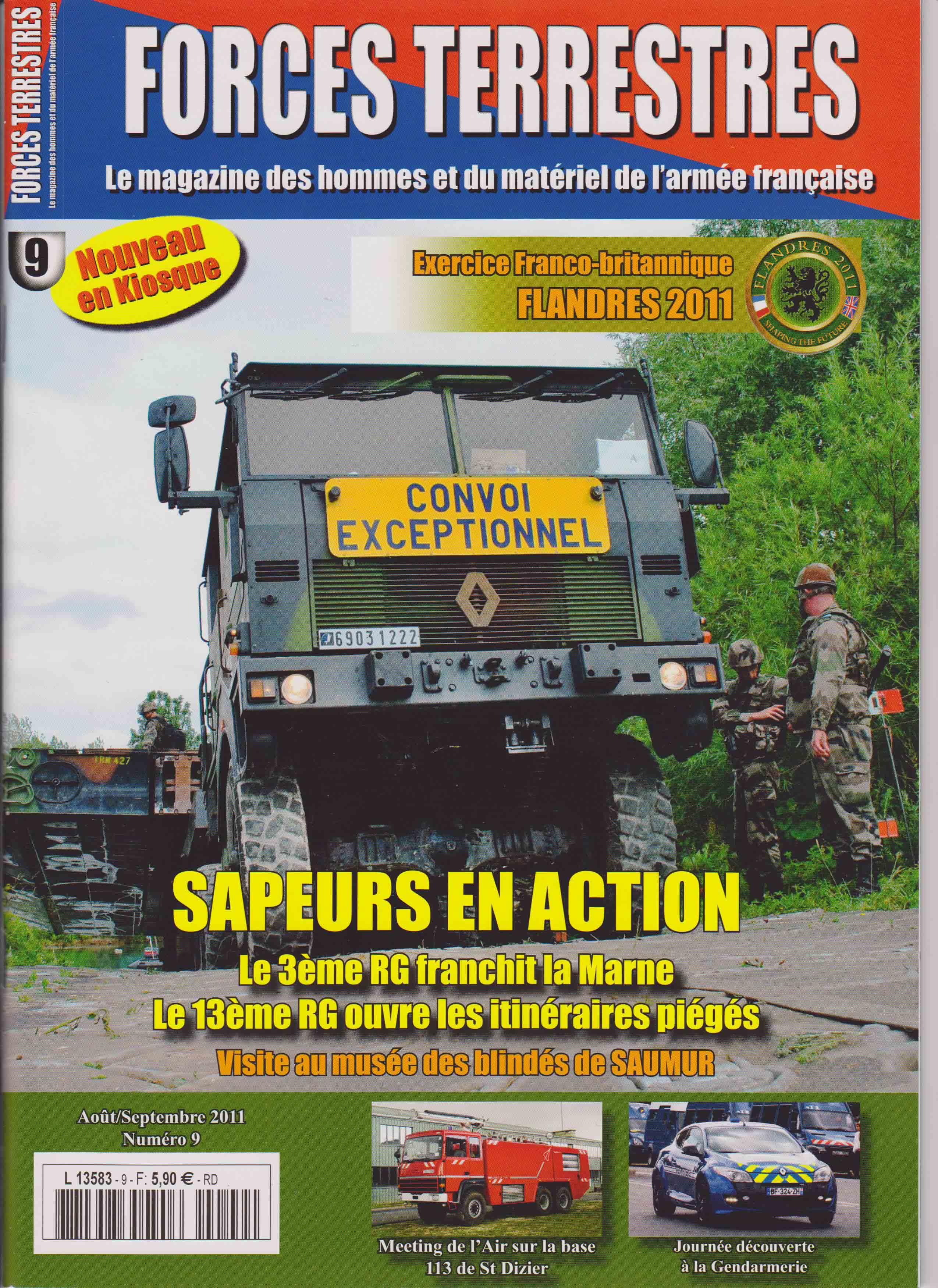 Forces Terrestres N°9 (Etranger)
