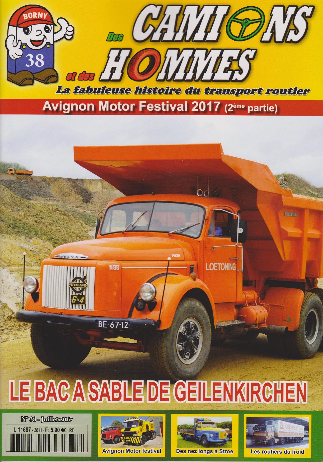 Magazine N°38 Des Camions et des Hommes (Etranger)