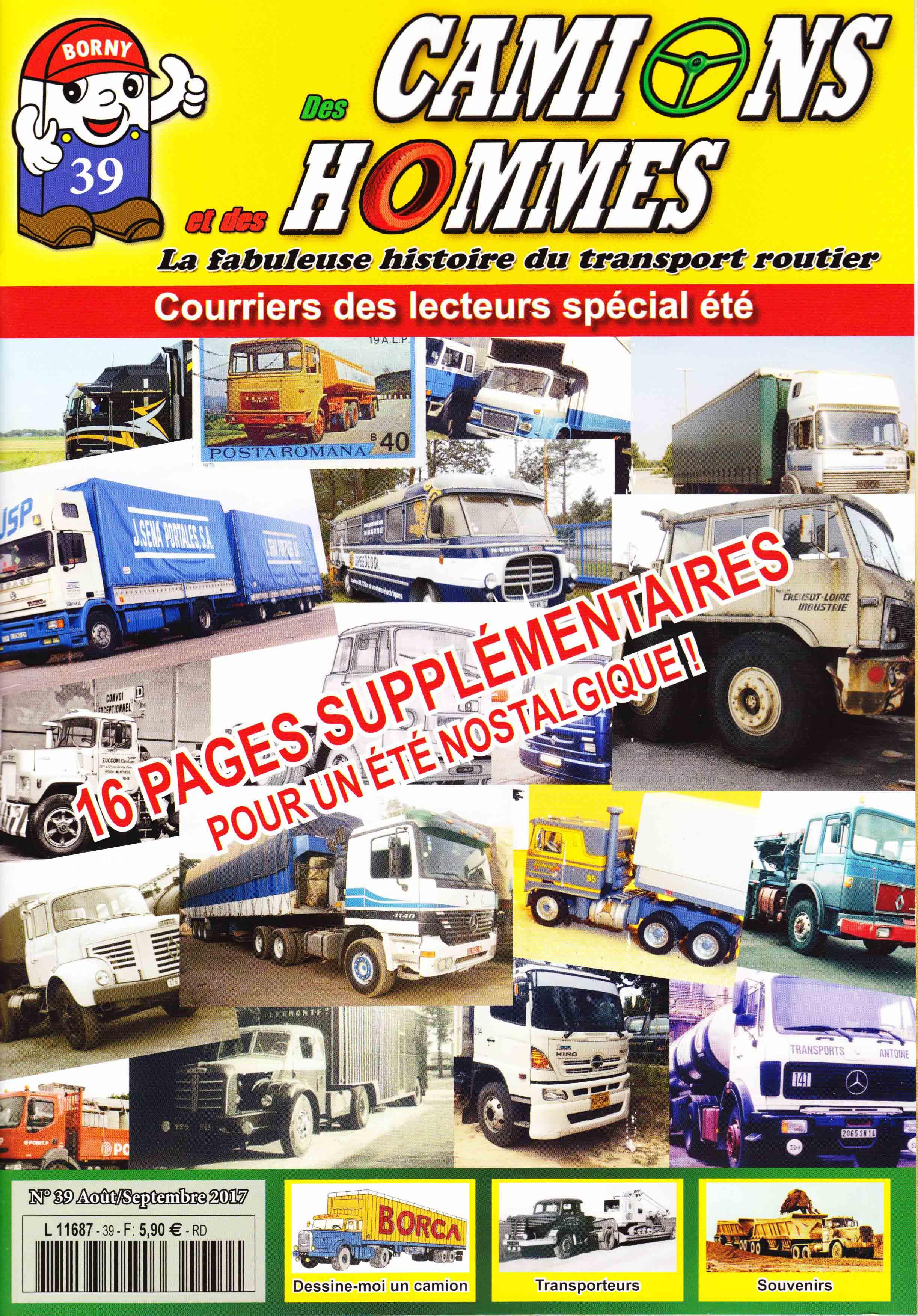 Magazine N°39 Des Camions et des Hommes (Etranger)