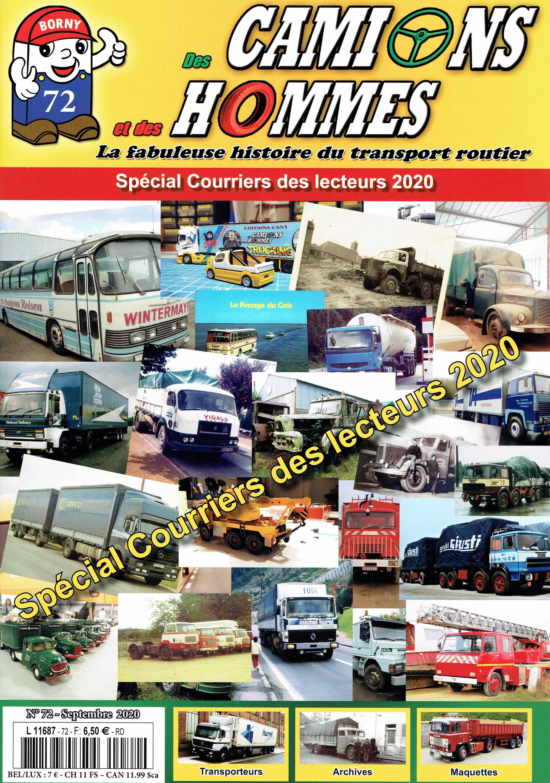 Magazine N°72 Des Camions et des Hommes (Etranger)
