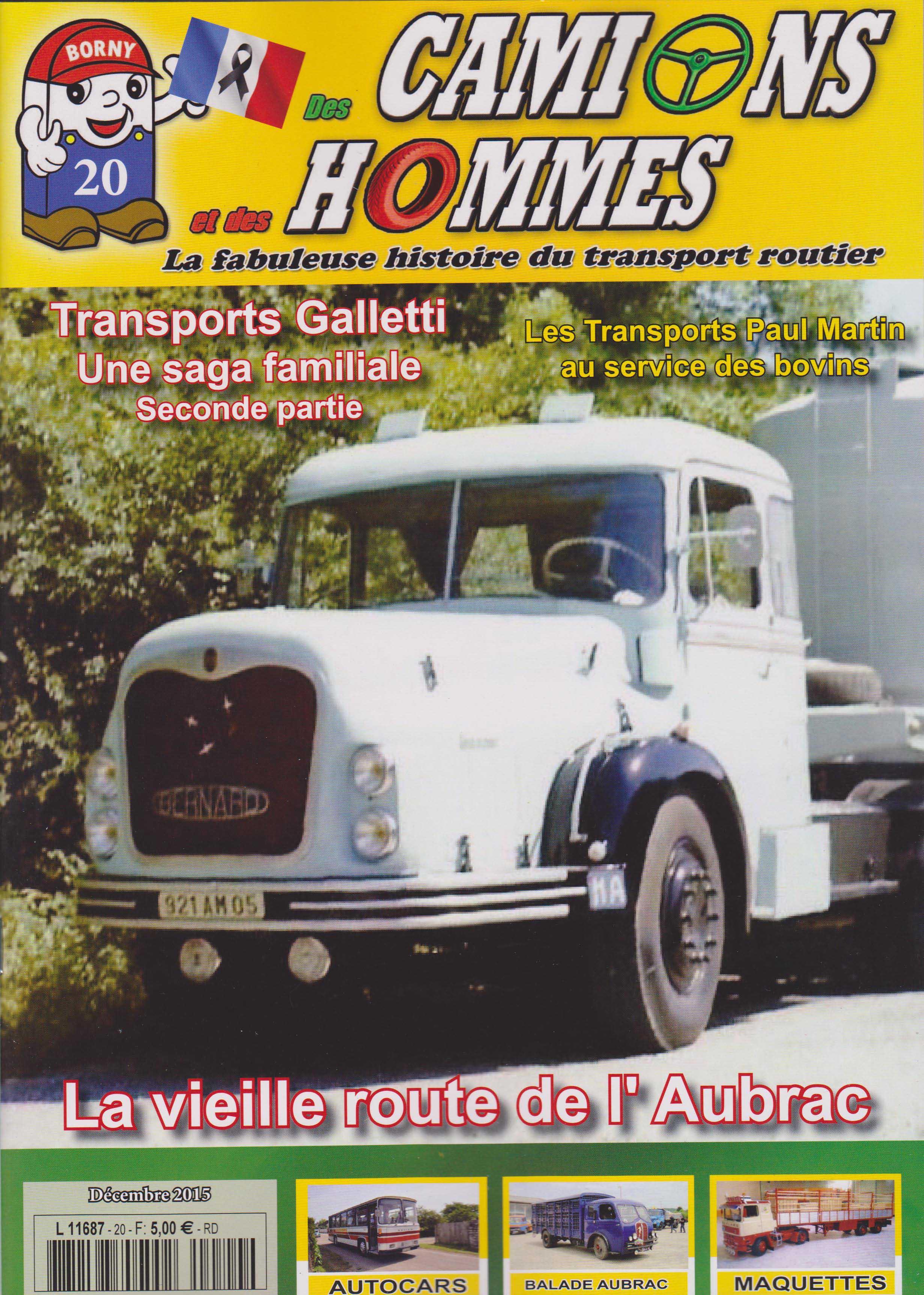 Magazine N°20 Des Camions et des Hommes (Etranger)