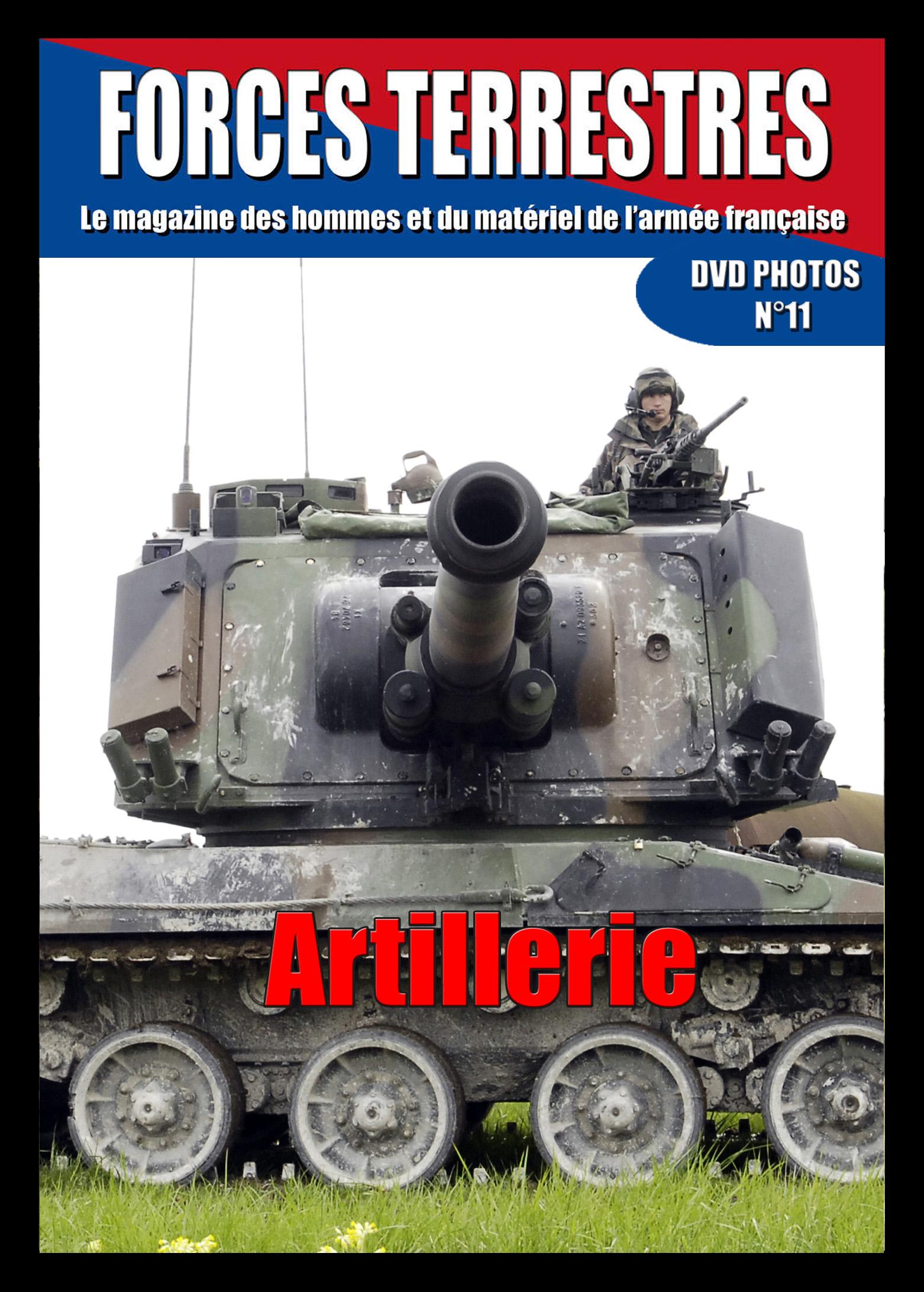 DVD  N°11 Artillerie