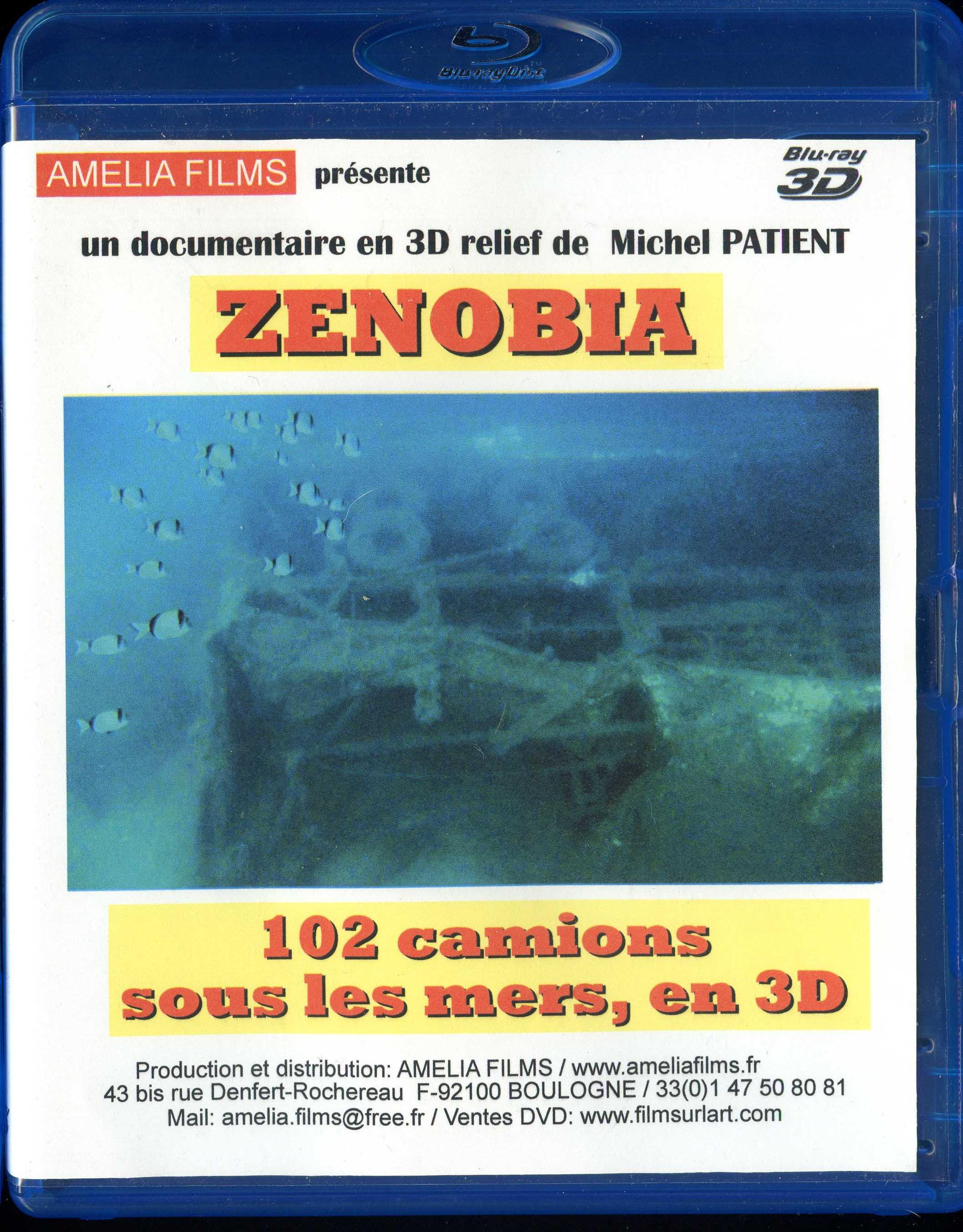 ZENOBIA 102 lorries under the sea, in 3D ( english version )