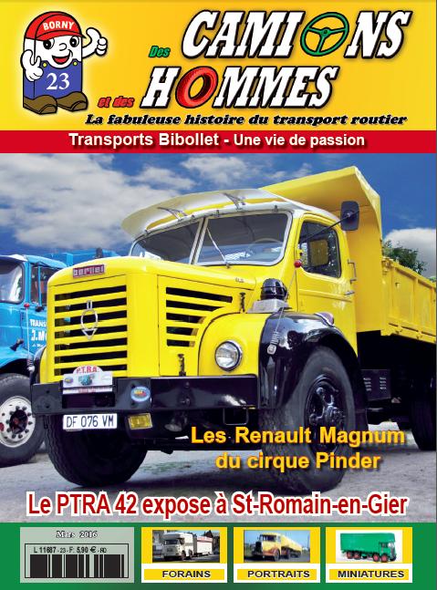 Magazine N°23 Des Camions et des Hommes (Etranger)