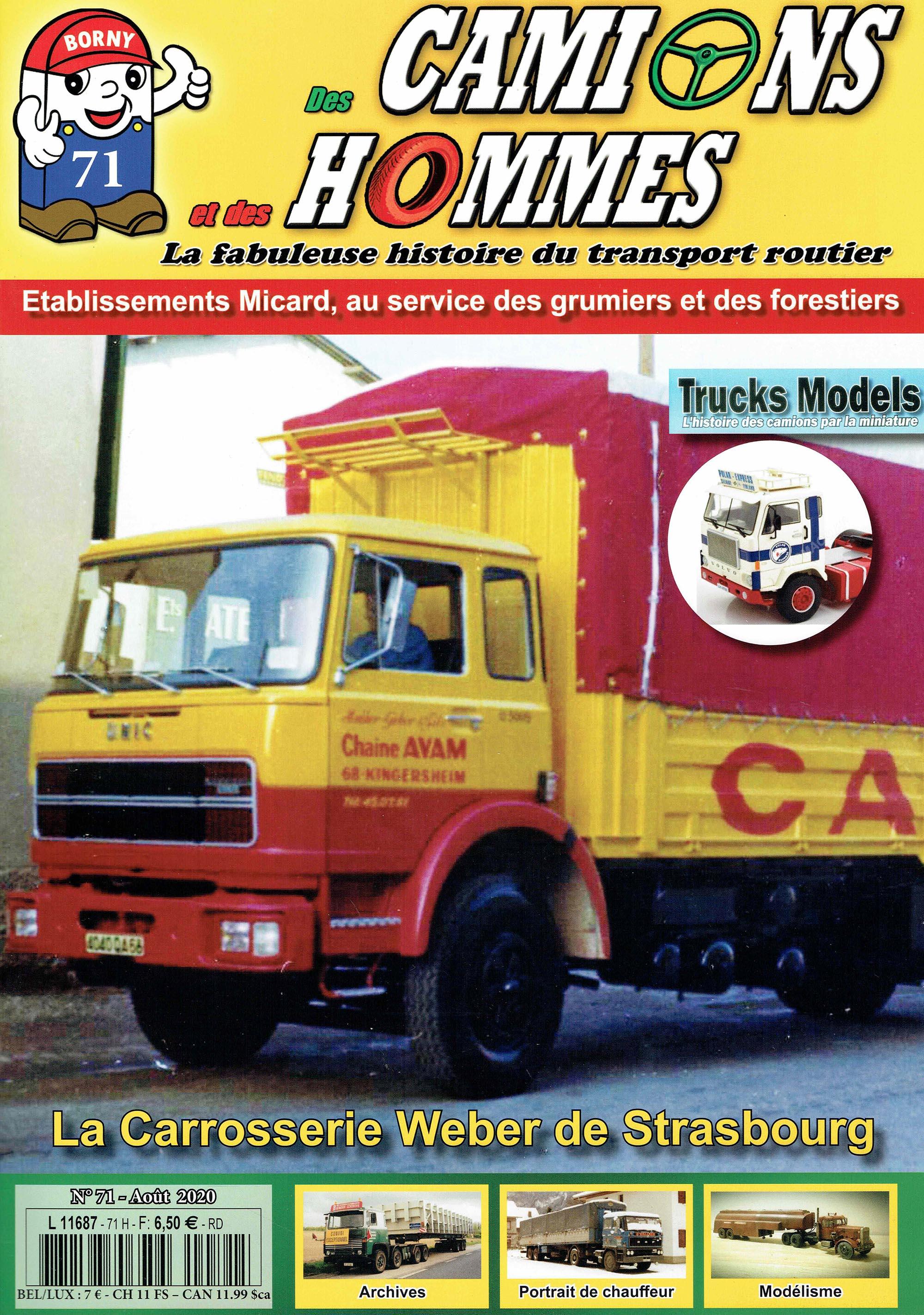 Magazine N°71 Des Camions et des Hommes (Etranger)
