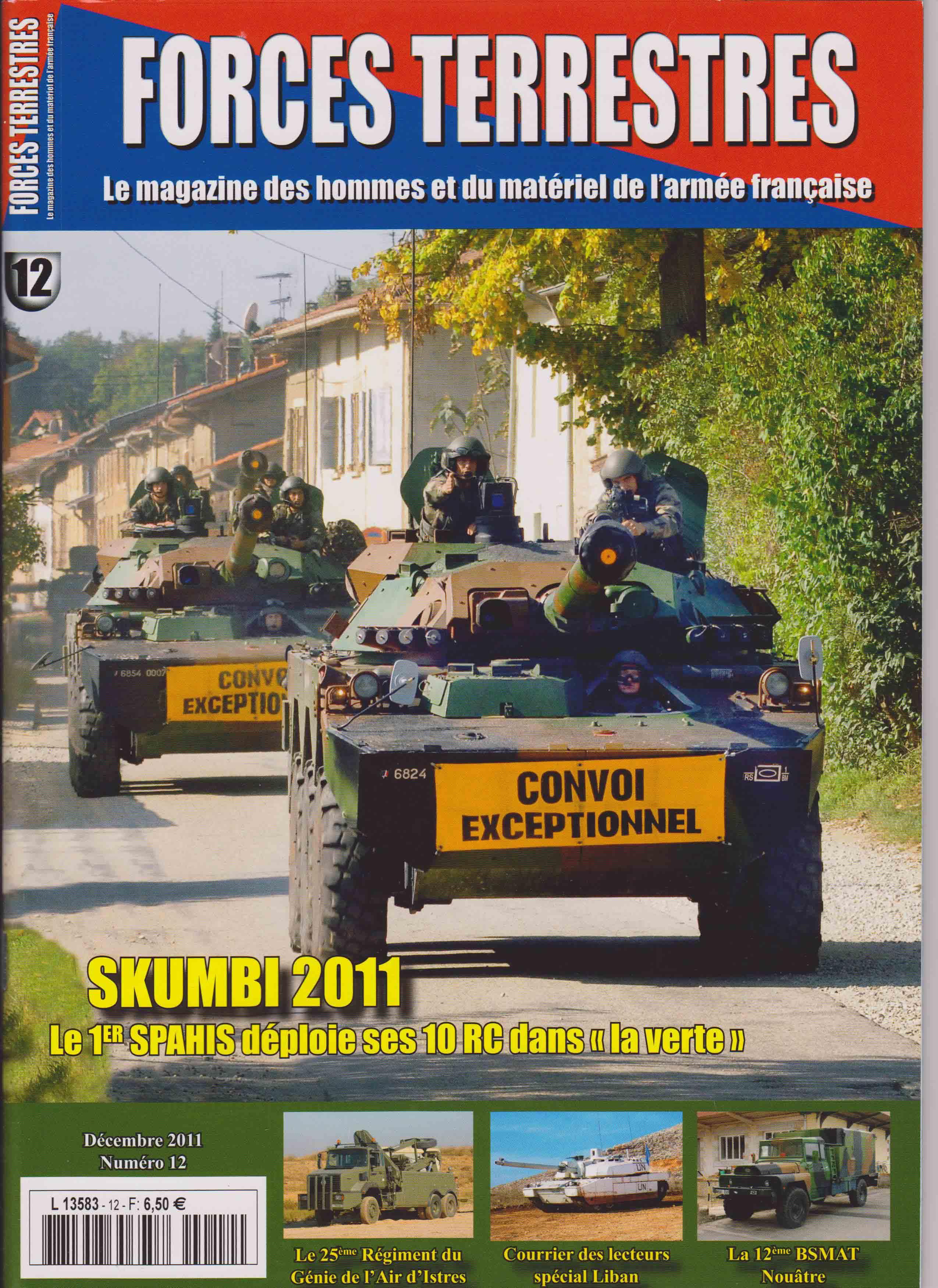 Forces Terrestres N°12 (Etranger)