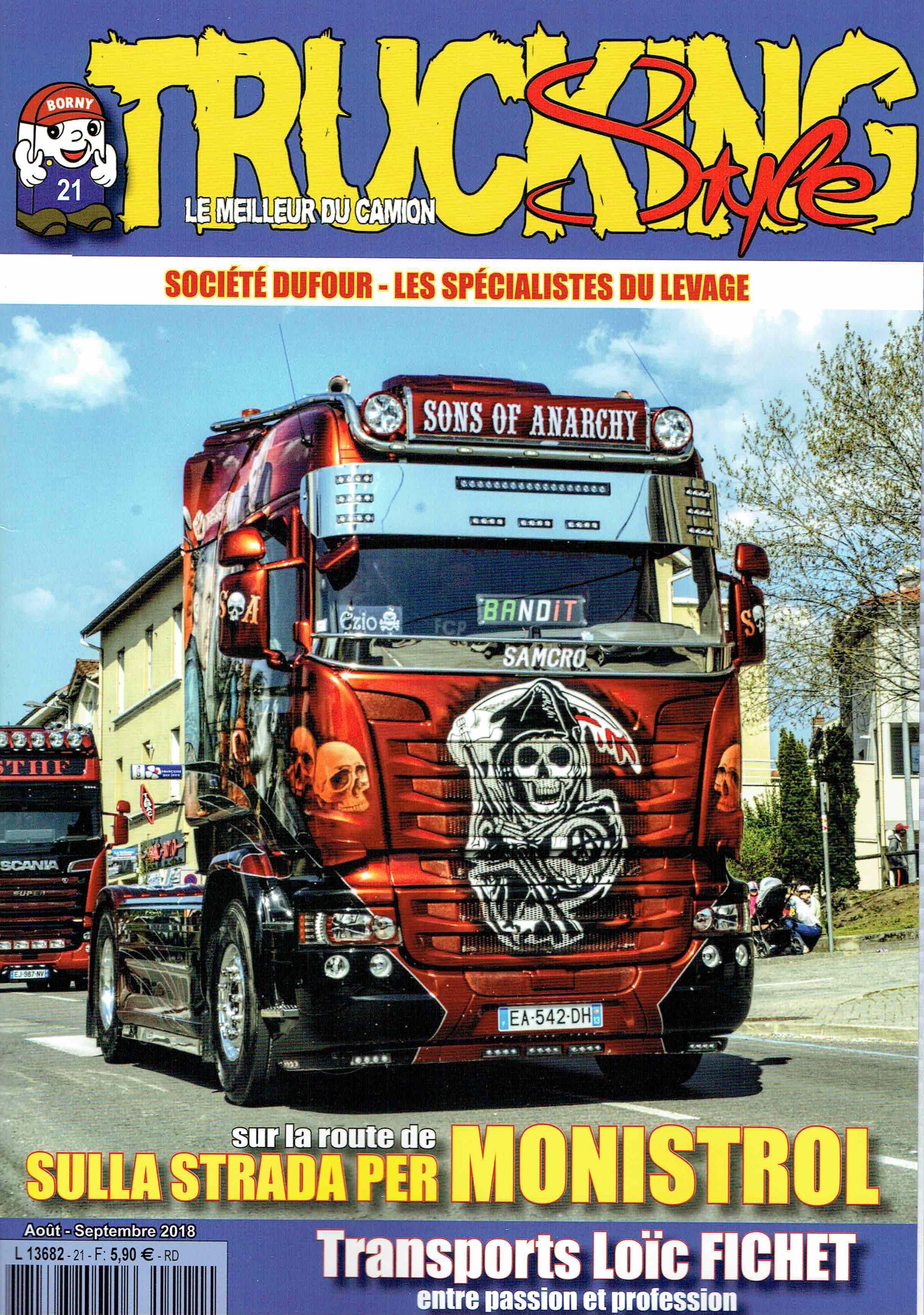 Numéro 21 de Trucking Style