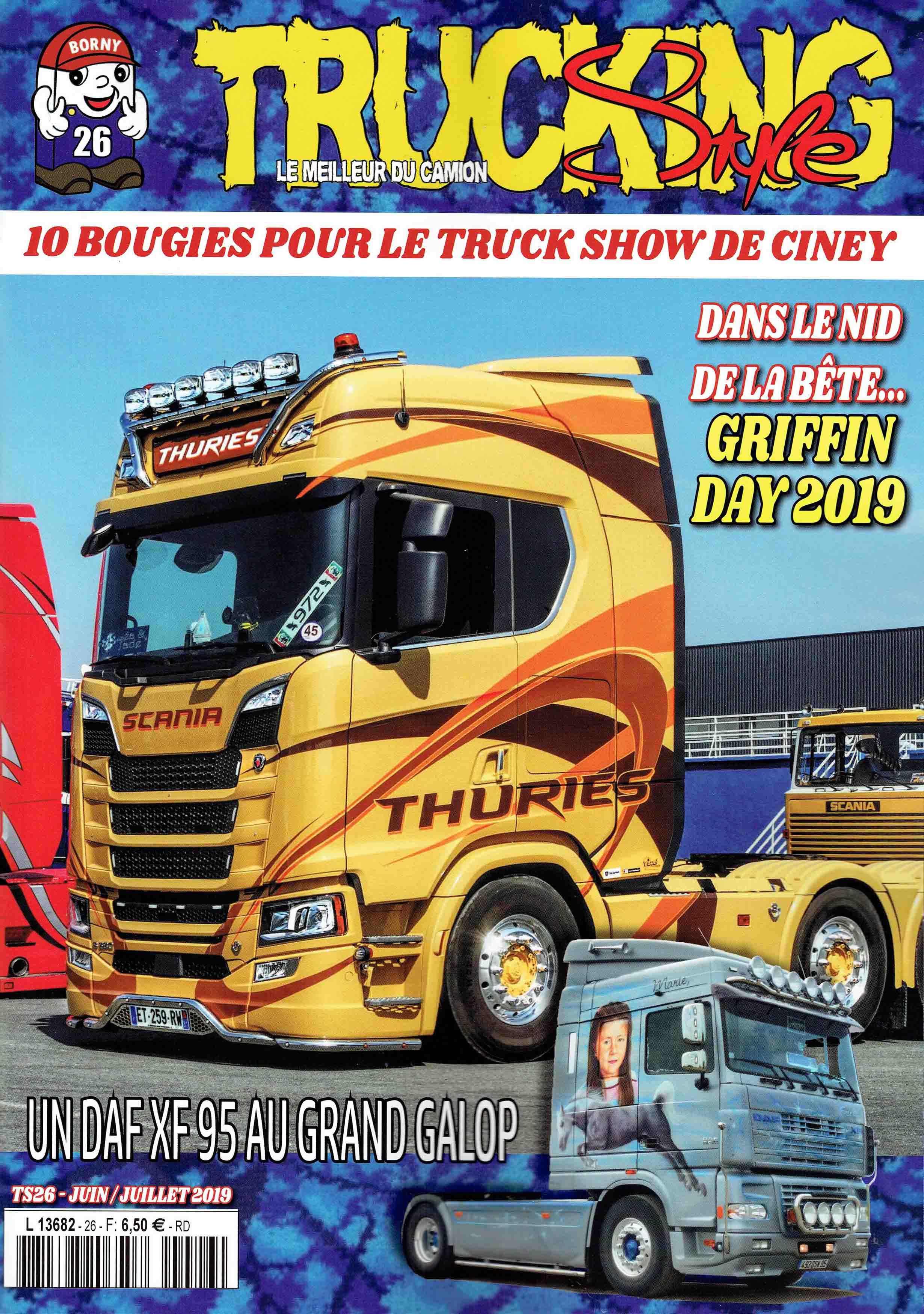 Numéro 26 de Trucking Style