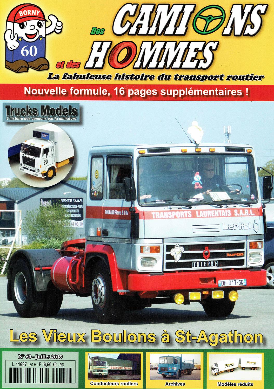 Magazine N°60 Des Camions et des Hommes (Etranger)