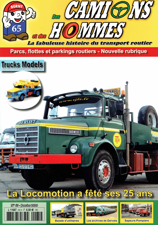 Magazine N°65 Des Camions et des Hommes (Etranger)
