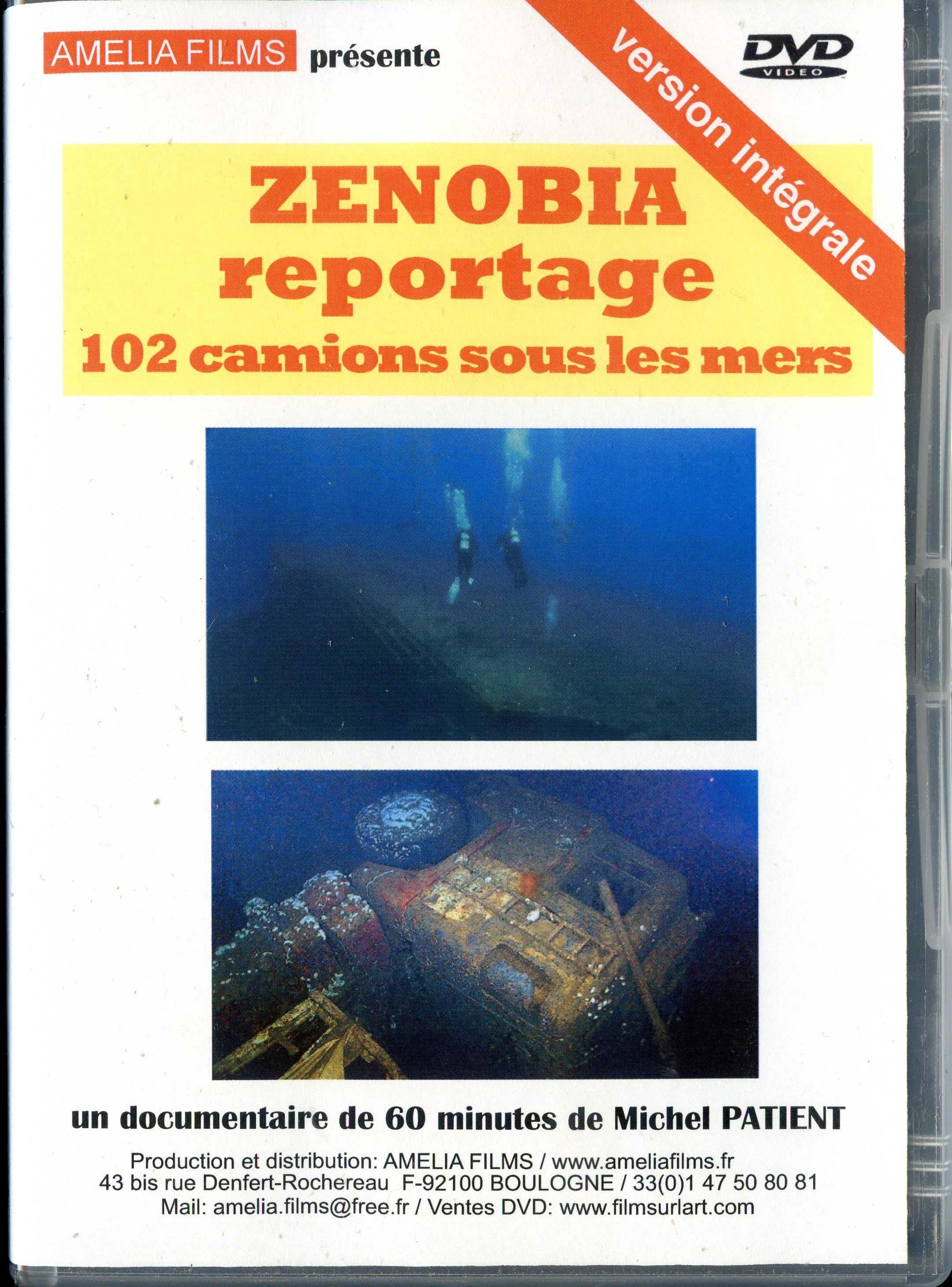 ZENOBIA reportage 102 camions sous les mers ( version française )