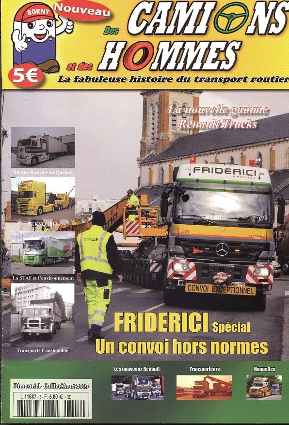 Magazine N°3 Des Camions et des Hommes (Etranger)